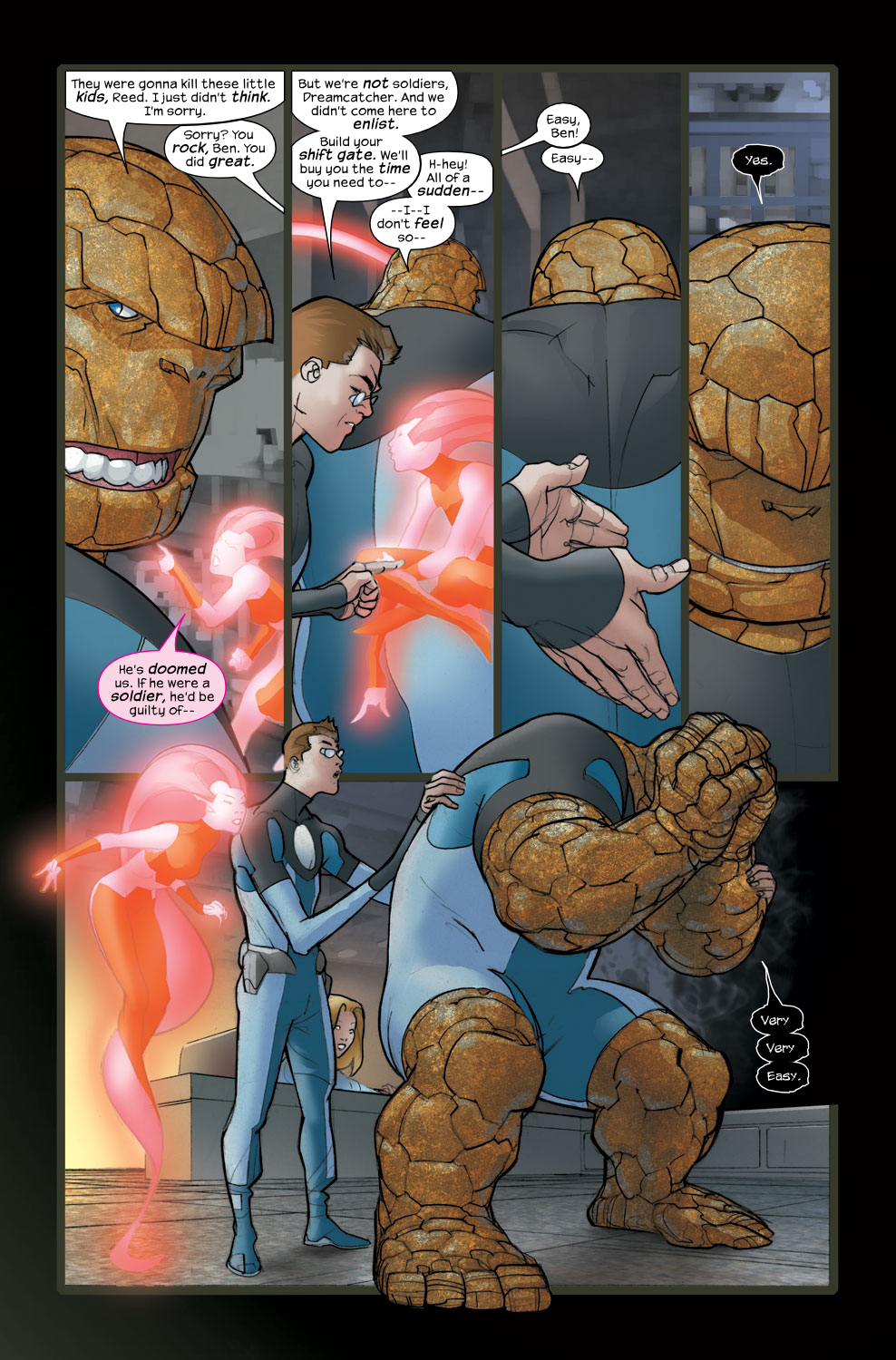 Read online Ultimate Fantastic Four (2004) comic -  Issue #36 - 23