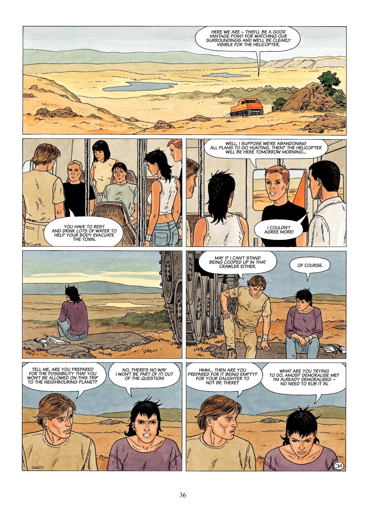 Read online Antares comic -  Issue #4 - 36