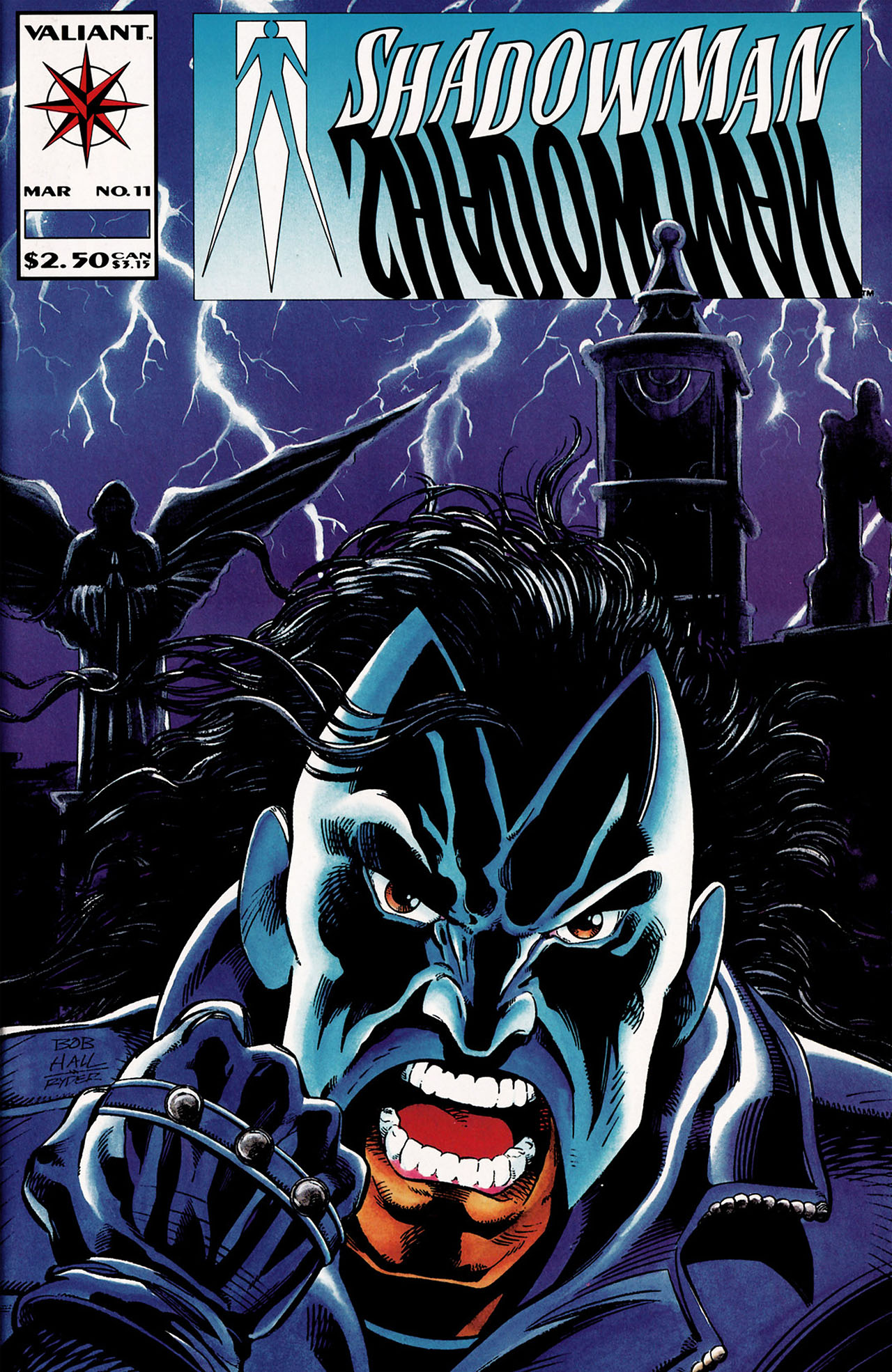 Read online Shadowman (1992) comic -  Issue #11 - 1
