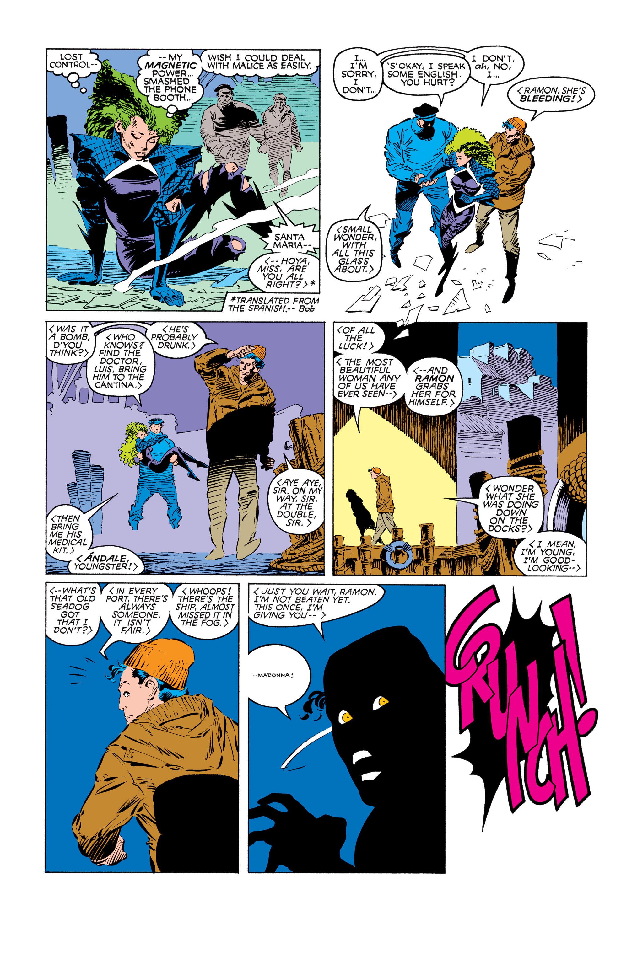Read online Uncanny X-Men (1963) comic -  Issue #249 - 8