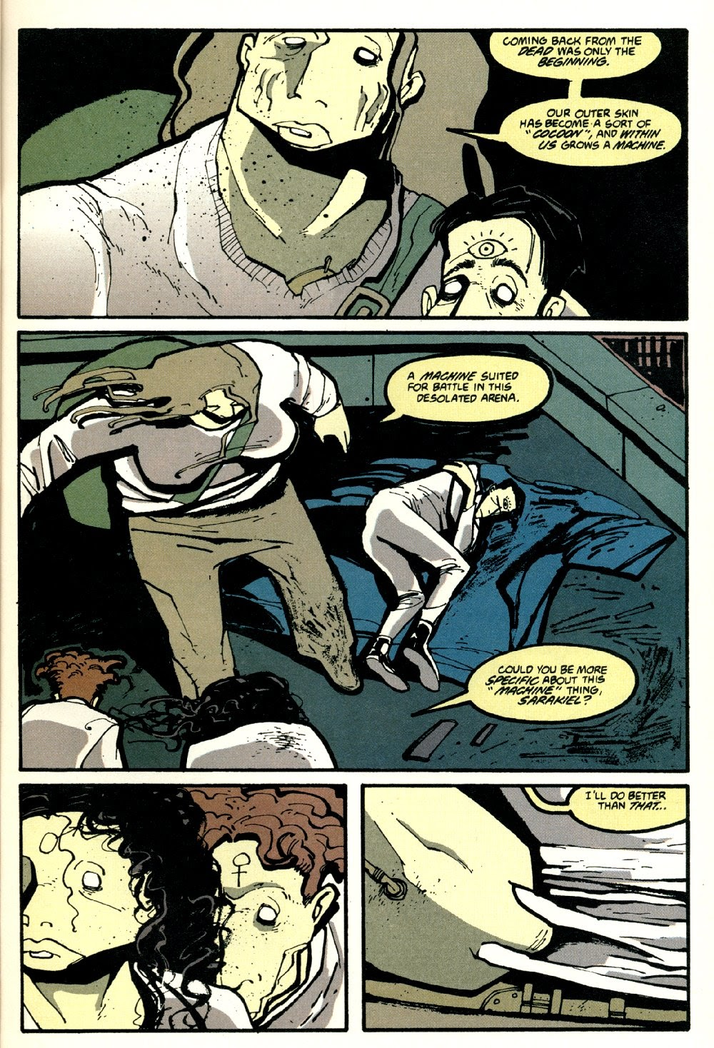 Read online Ted McKeever's Metropol comic -  Issue #8 - 5