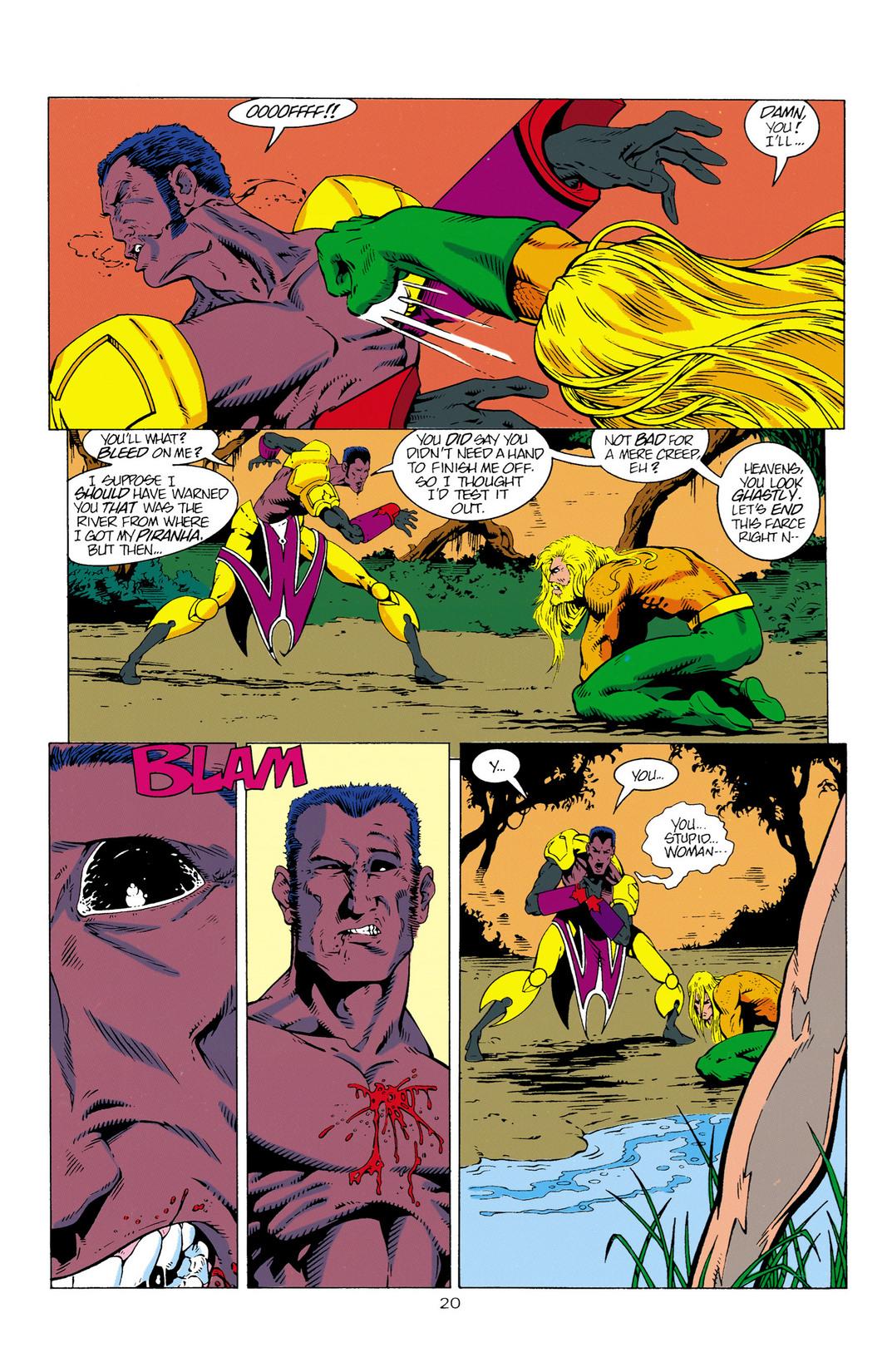 Read online Aquaman (1994) comic -  Issue #2 - 21