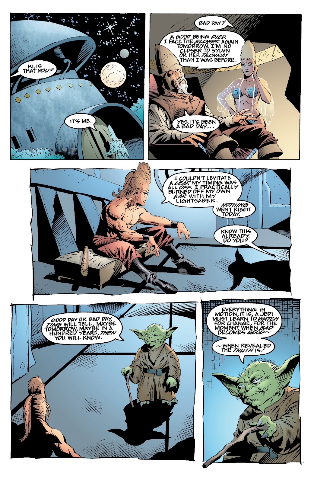 Read online Star Wars Legends: Rise of the Sith - Epic Collection comic -  Issue # TPB 2 (Part 1) - 51