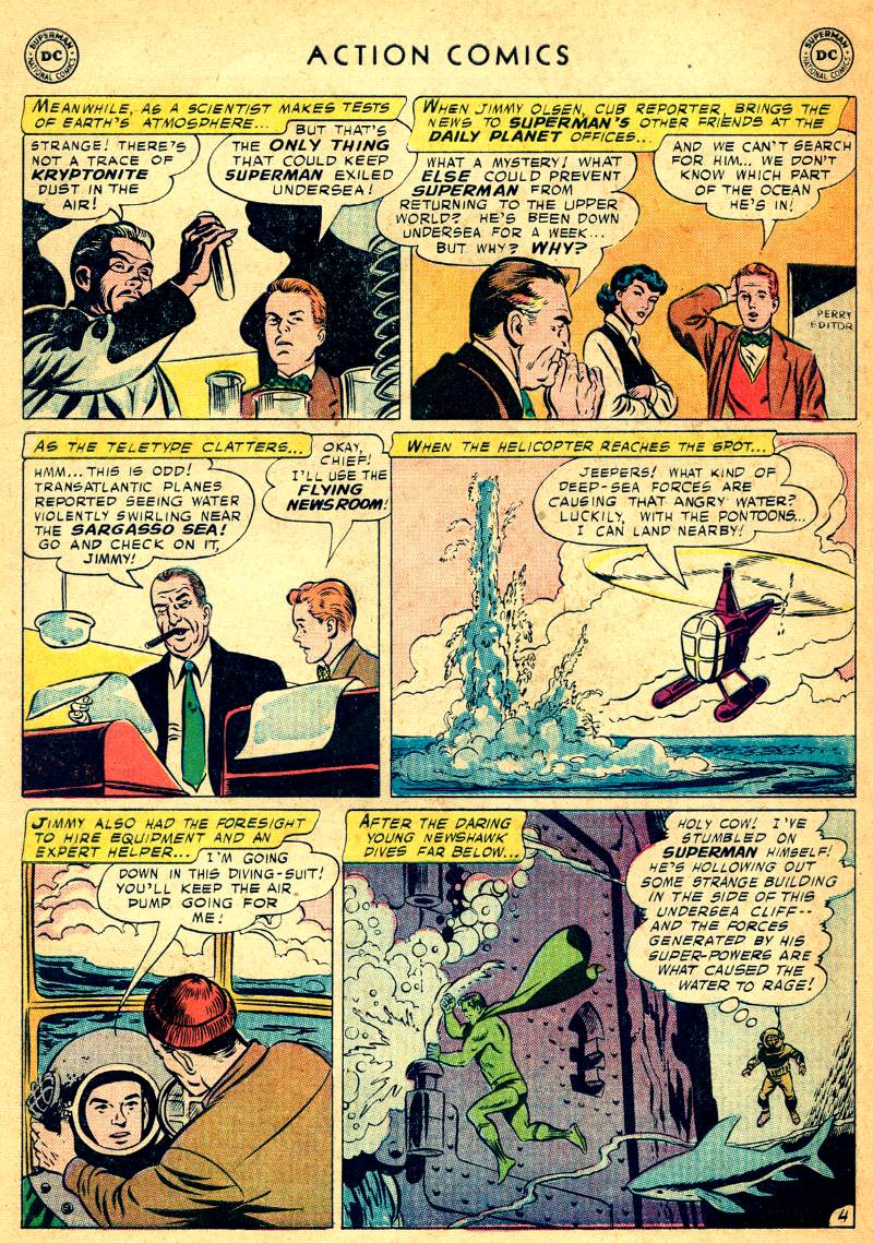 Read online Action Comics (1938) comic -  Issue #244 - 6