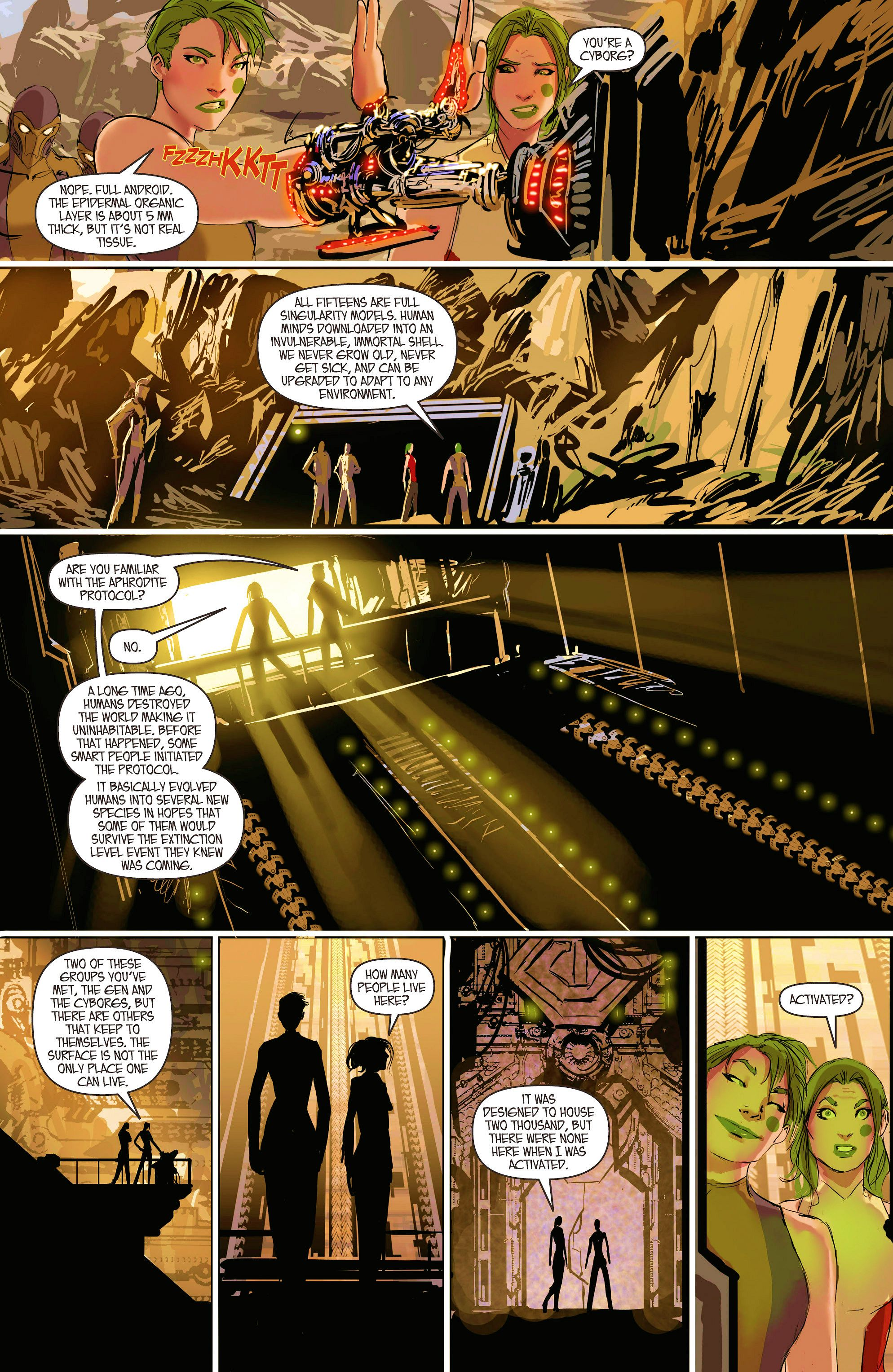 Read online Aphrodite IX (2013) comic -  Issue #6 - 20