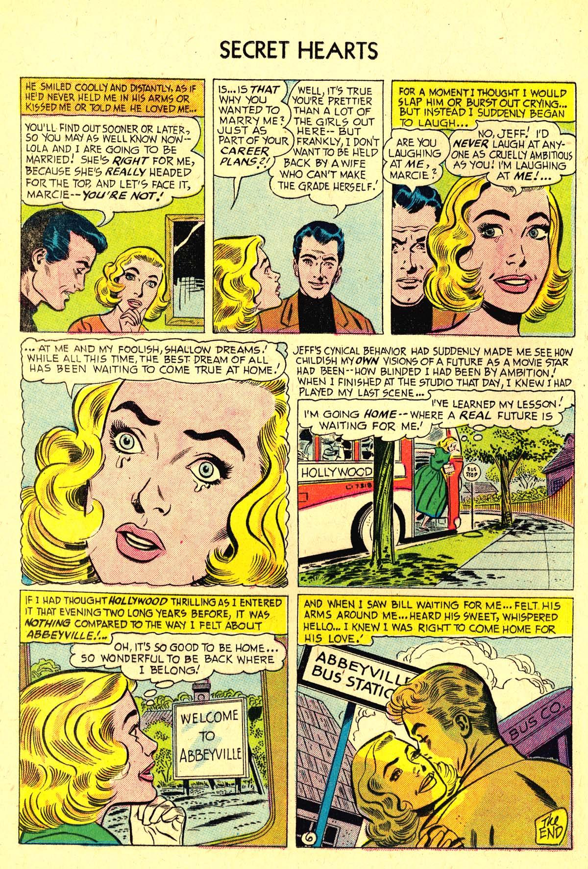 Read online Secret Hearts comic -  Issue #37 - 24