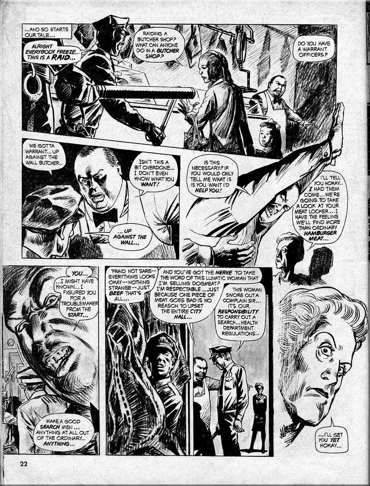Nightmare (1970) issue 10 - Page 22