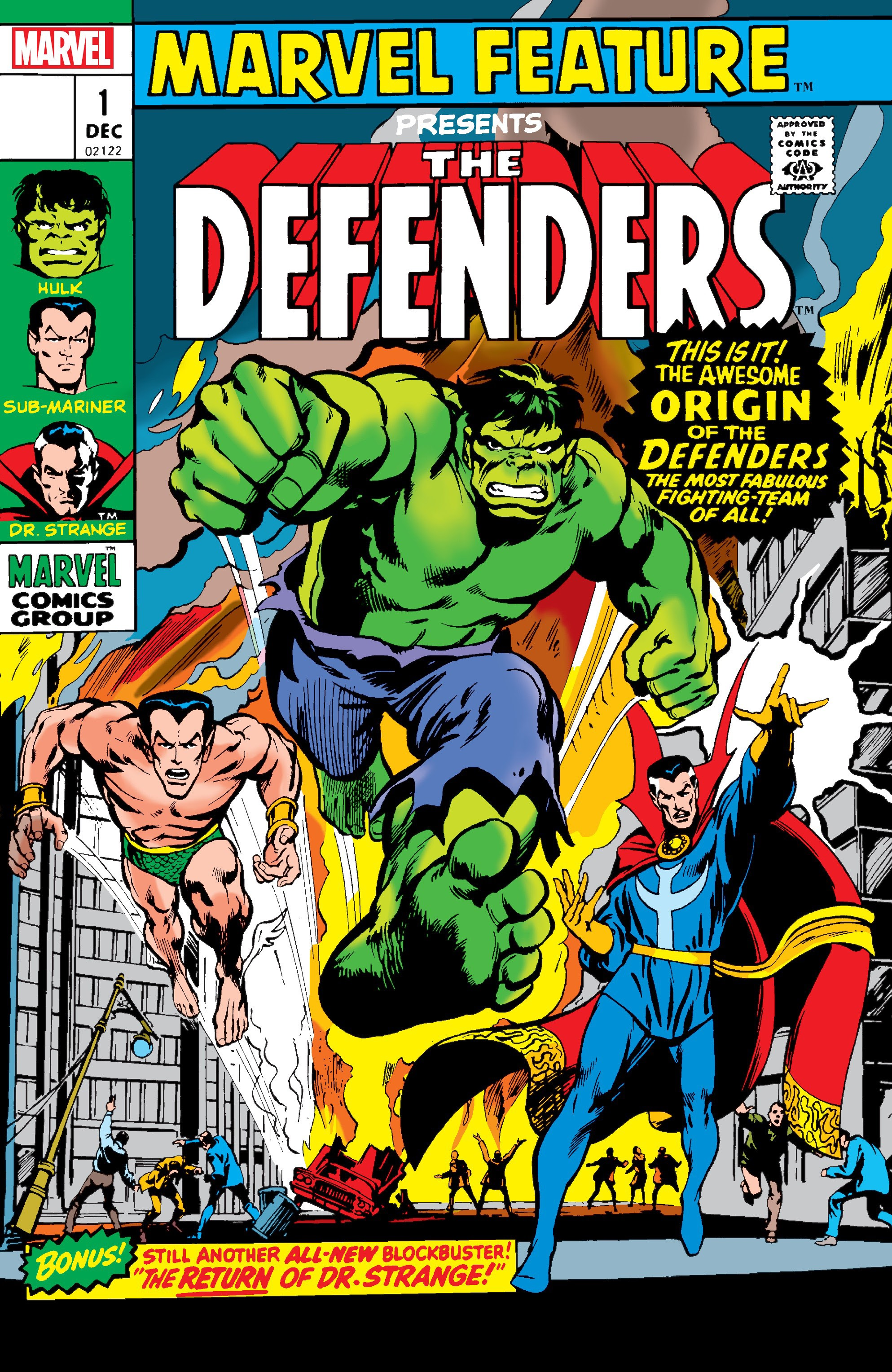 Defenders: Marvel Feature #1: Facsimile Edition issue 1 - Page 1