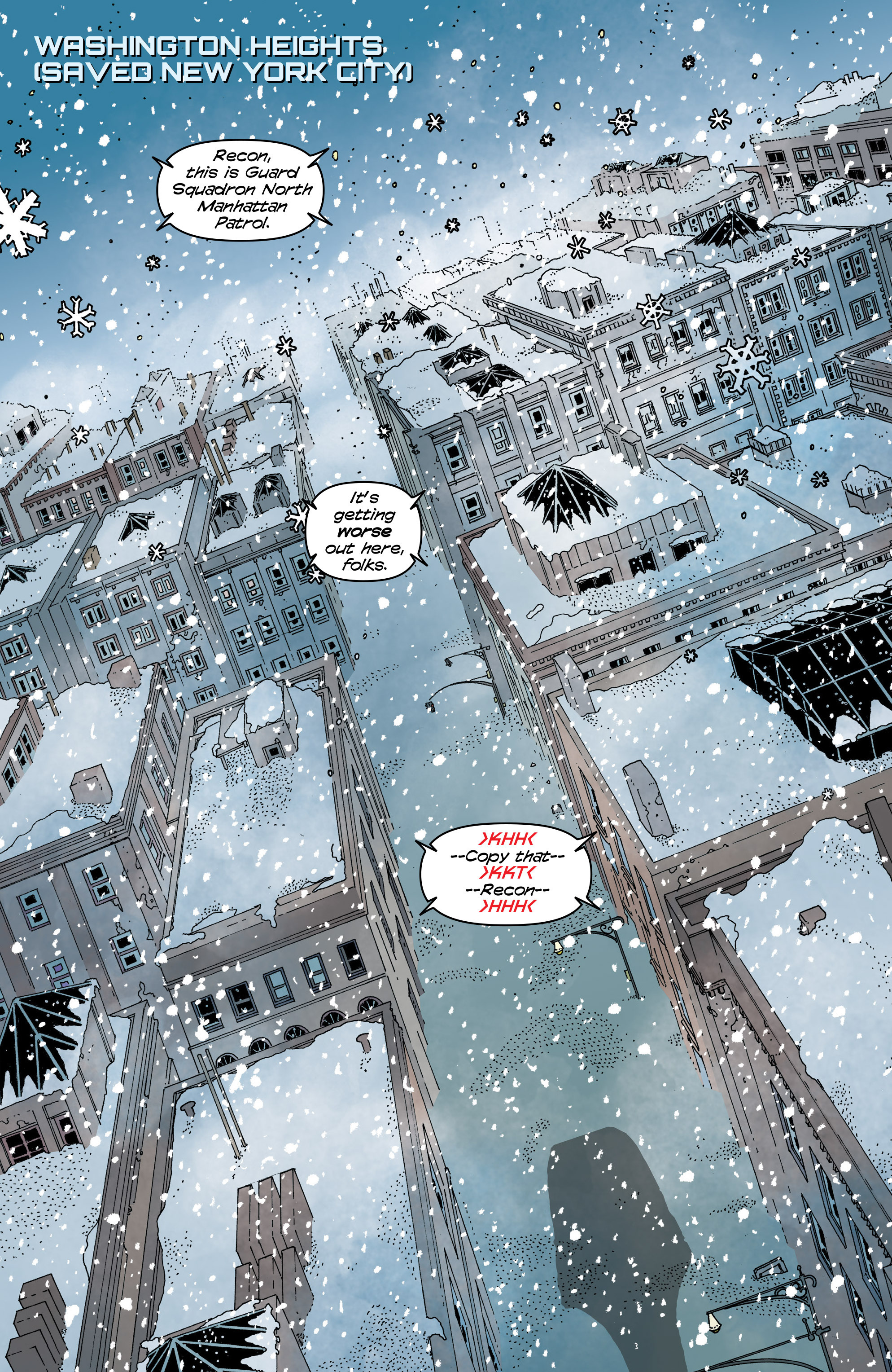 Read online Snowfall comic -  Issue #6 - 3