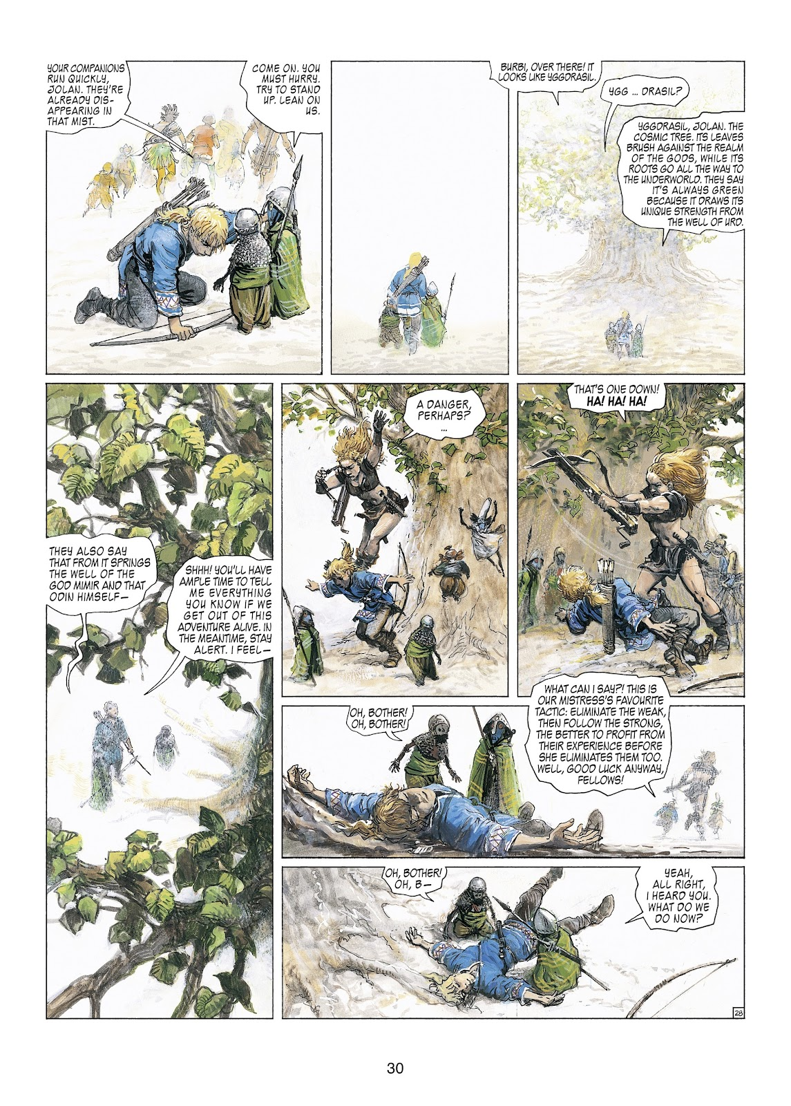 Read online Thorgal comic -  Issue #23 - 32