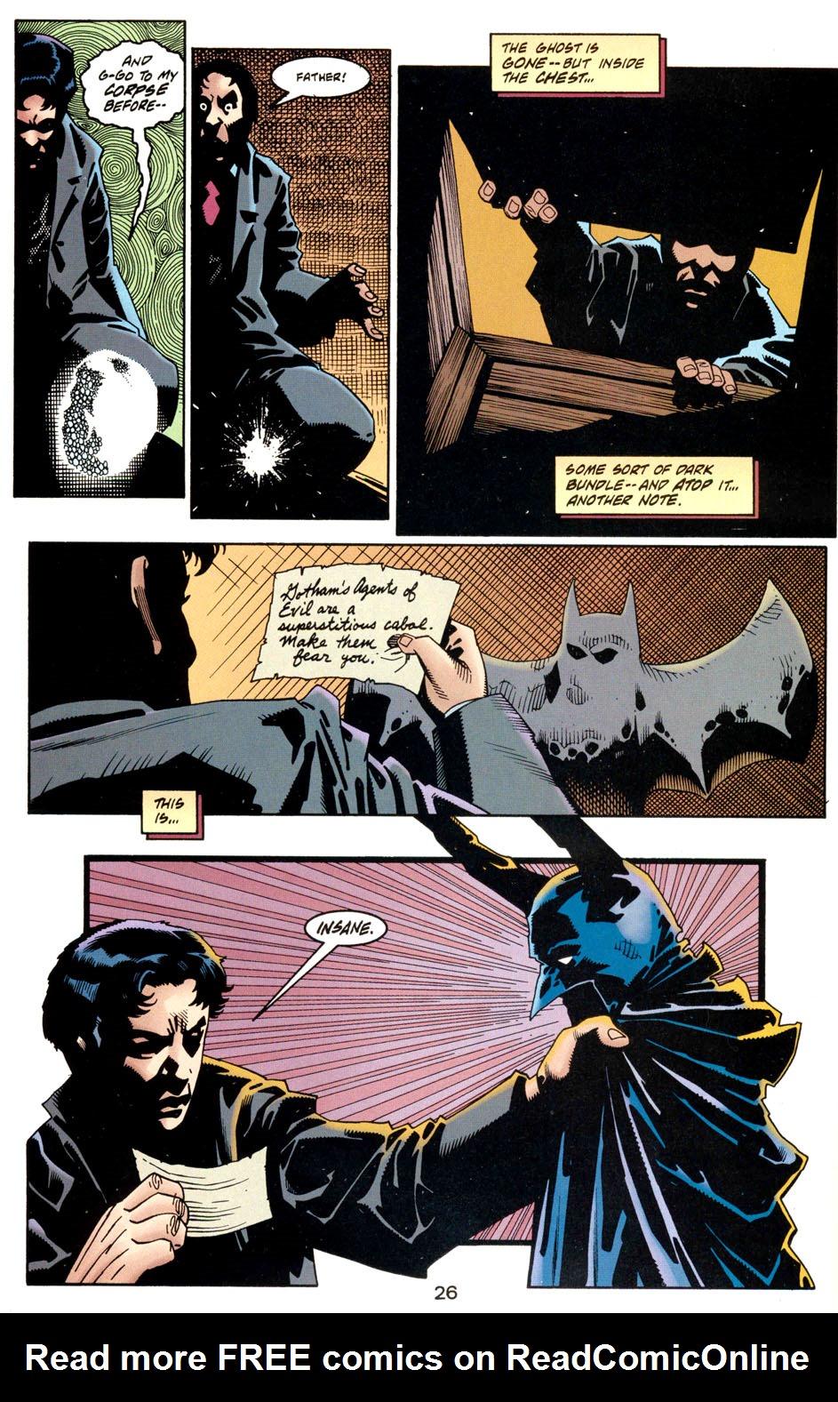 Read online Batman: Haunted Gotham comic -  Issue #1 - 28
