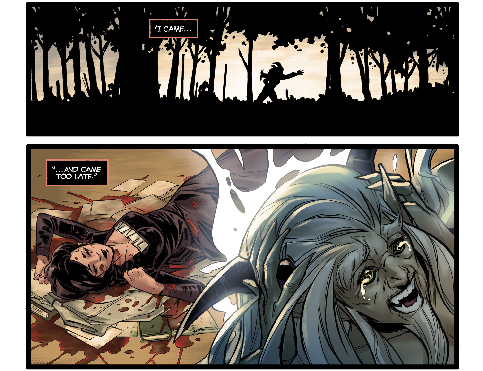 Read online DC Comics: Bombshells comic -  Issue #96 - 21