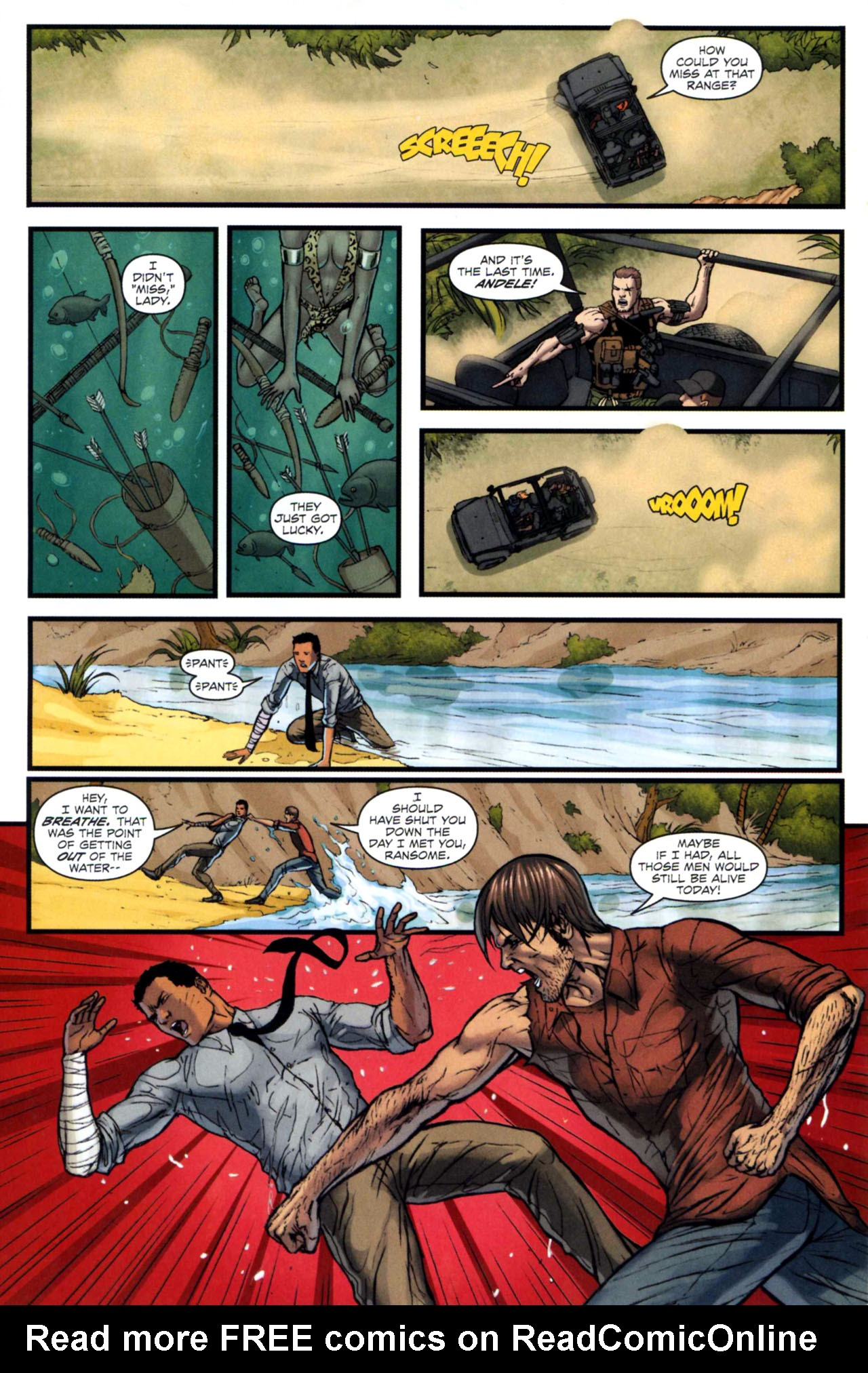 Read online Sheena, Queen of the Jungle comic -  Issue #5 - 7