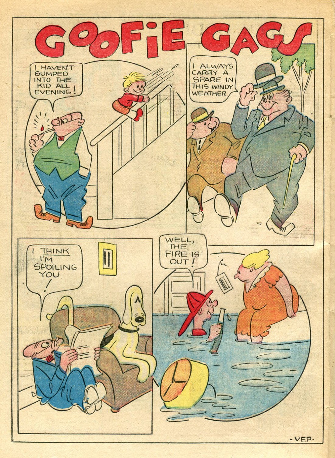 Read online Famous Funnies comic -  Issue #33 - 4
