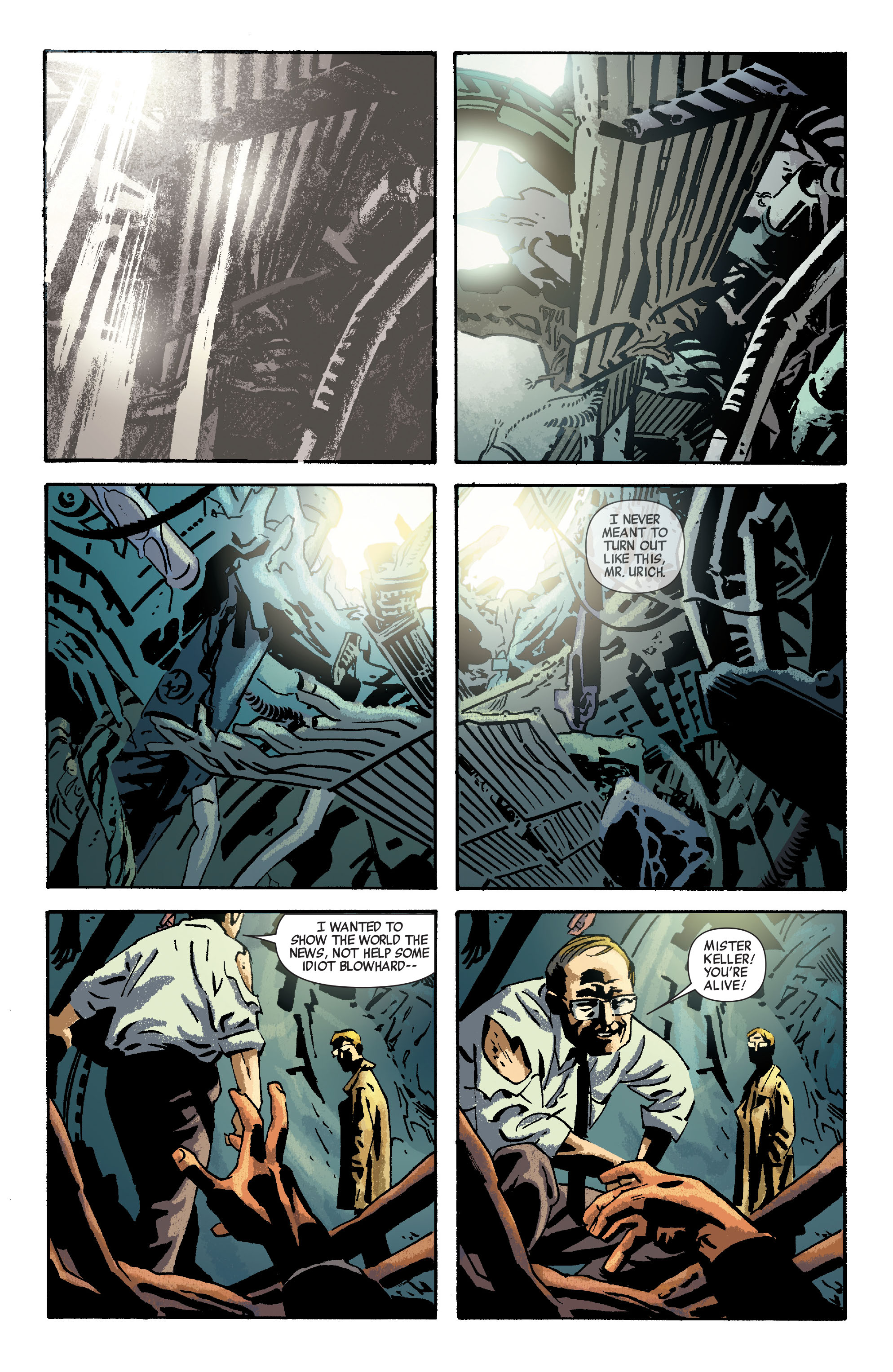 Read online Siege: Embedded comic -  Issue #3 - 16