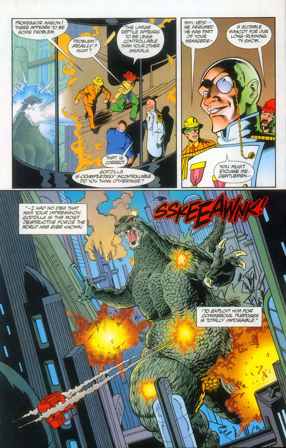 Godzilla (1995) Issue #12 #13 - English 16