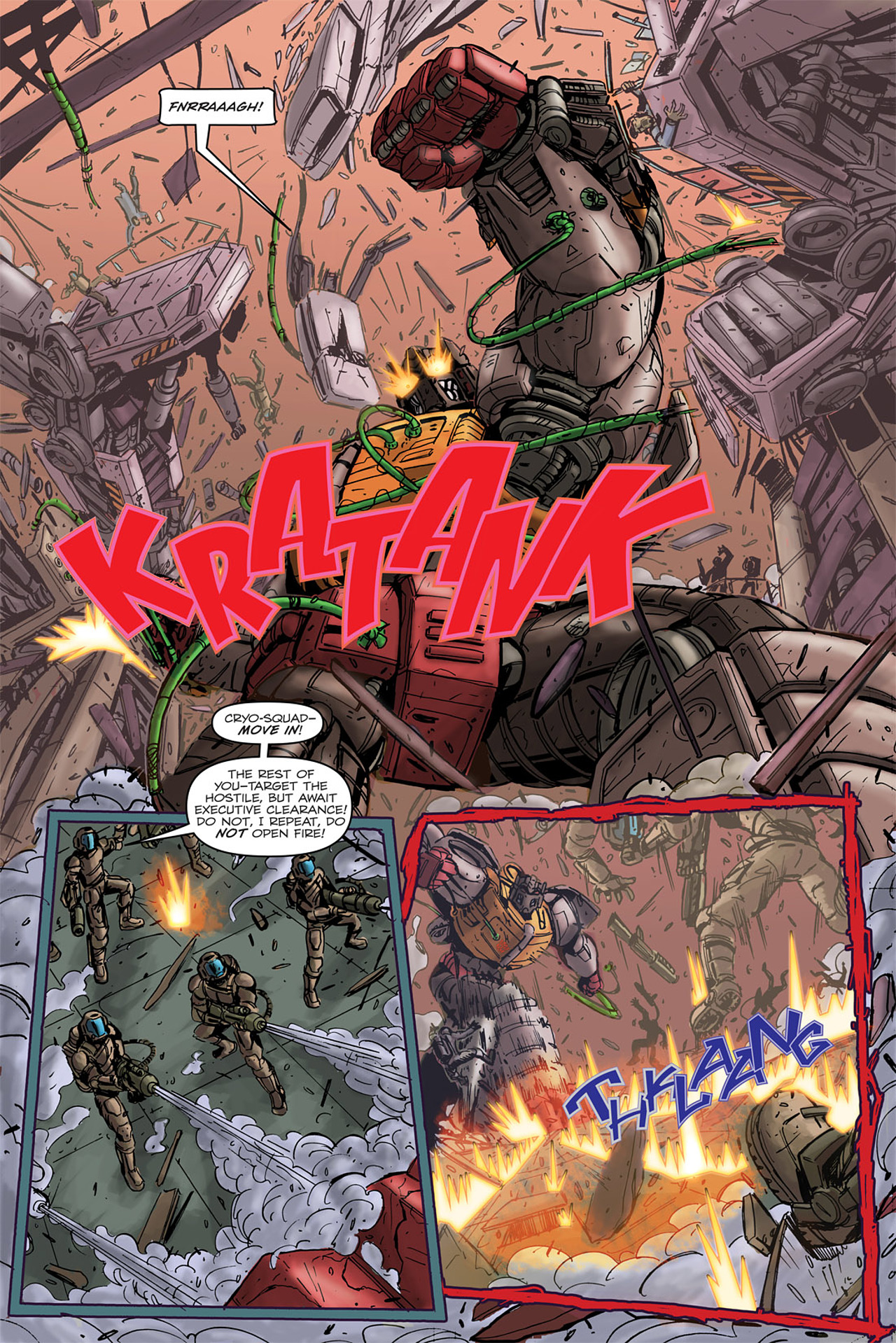 Read online Transformers Spotlight: Grimlock comic -  Issue # Full - 10