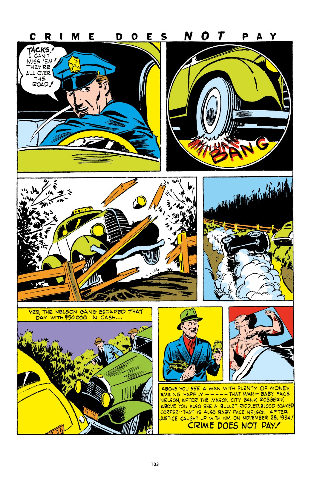 Read online Crime Does Not Pay Archives comic -  Issue # TPB 1 (Part 2) - 6