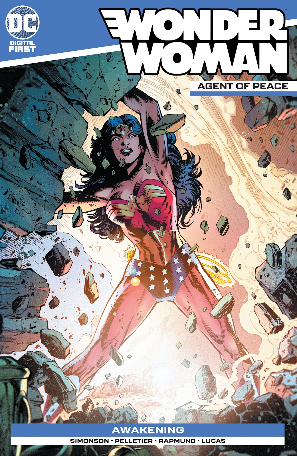 Wonder Woman: Agent of Peace 8 Page 1
