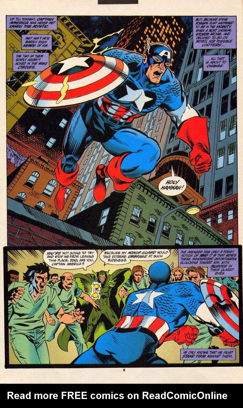 Read online Secret Defenders comic -  Issue #6 - 7