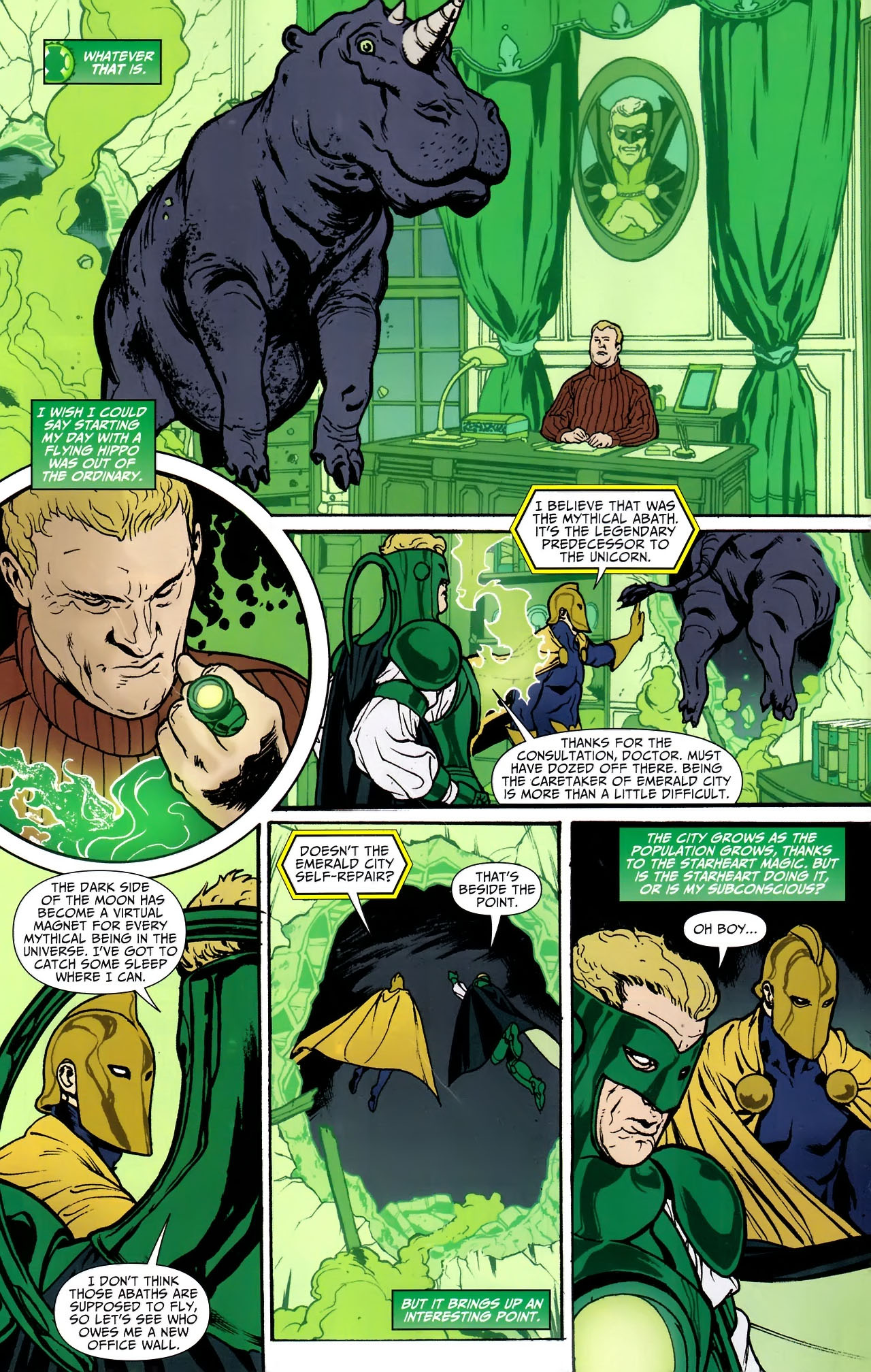 Read online JSA 80-Page Giant 2011 comic -  Issue # Full - 23