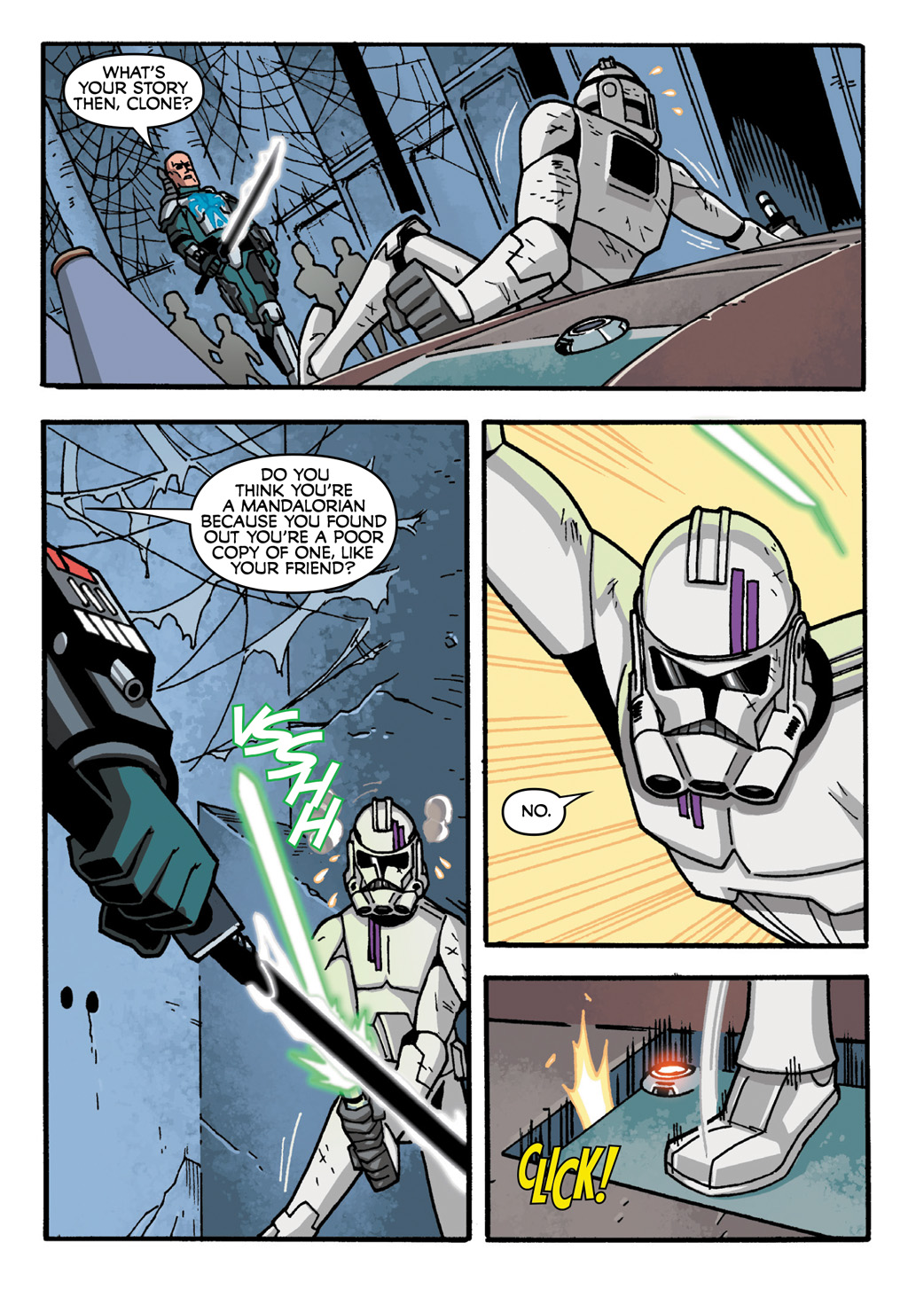 Read online Star Wars: The Clone Wars - Defenders of the Lost Temple comic -  Issue # Full - 60