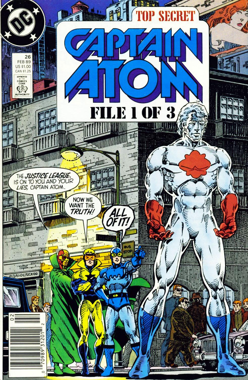 Captain Atom (1987) 26 Page 1