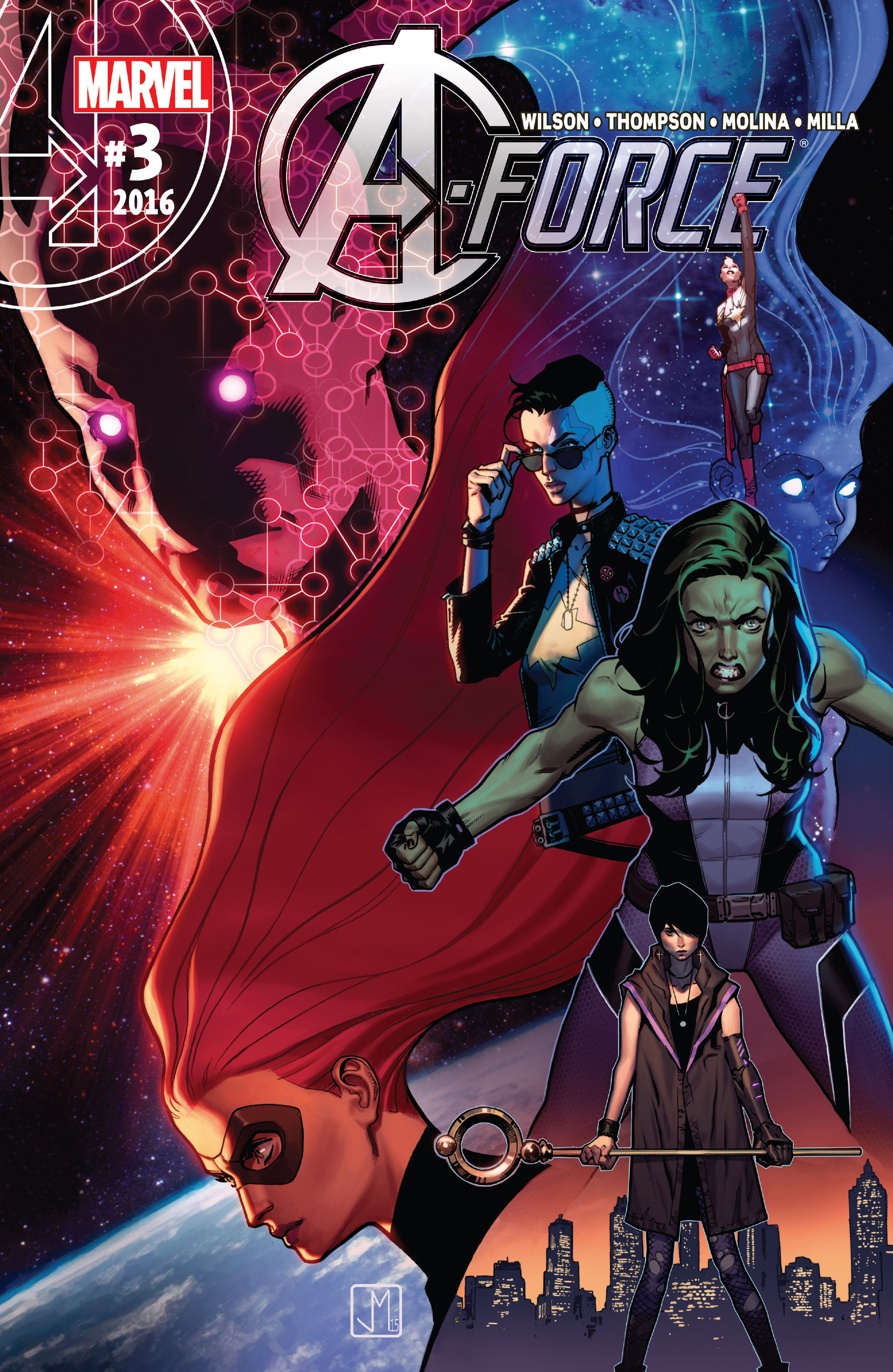 Read online A-Force (2016) comic -  Issue #3 - 1