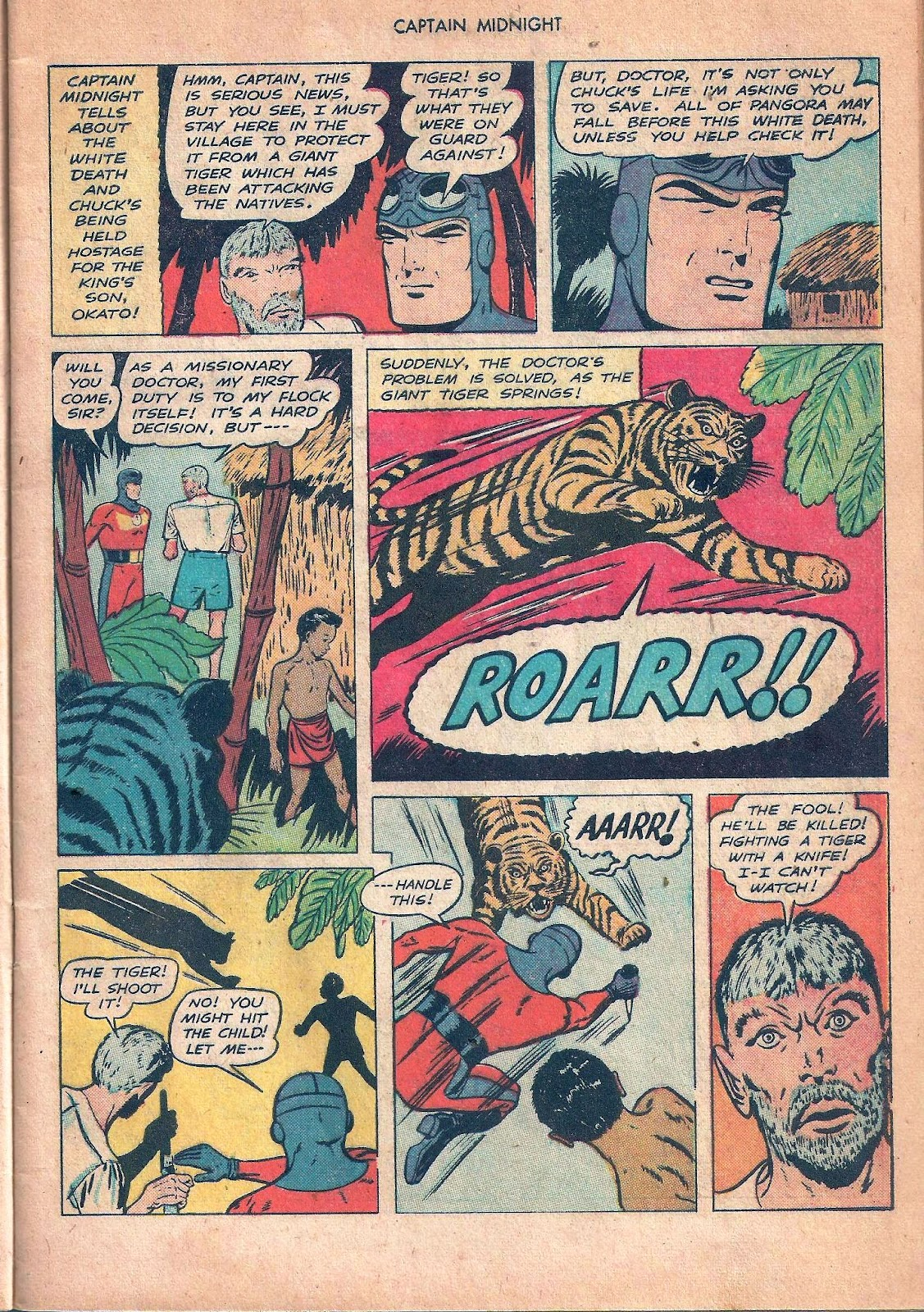 Captain Midnight (1942) issue 53 - Page 9
