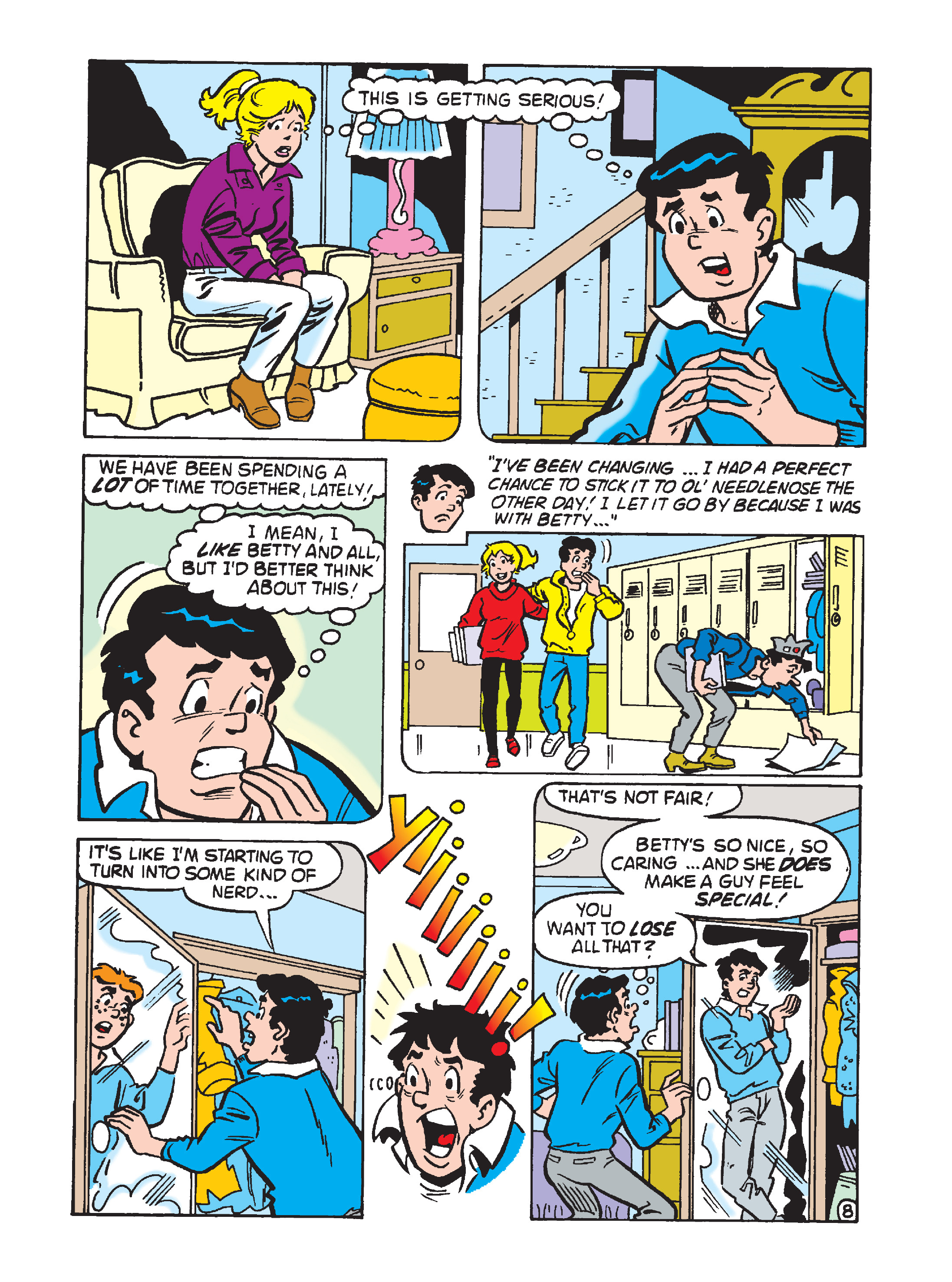 Read online Archie 75th Anniversary Digest comic -  Issue #4 - 163