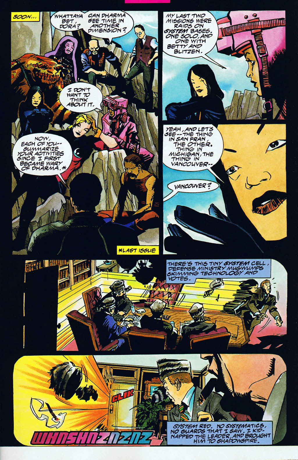 Read online Shadow Cabinet comic -  Issue #15 - 6