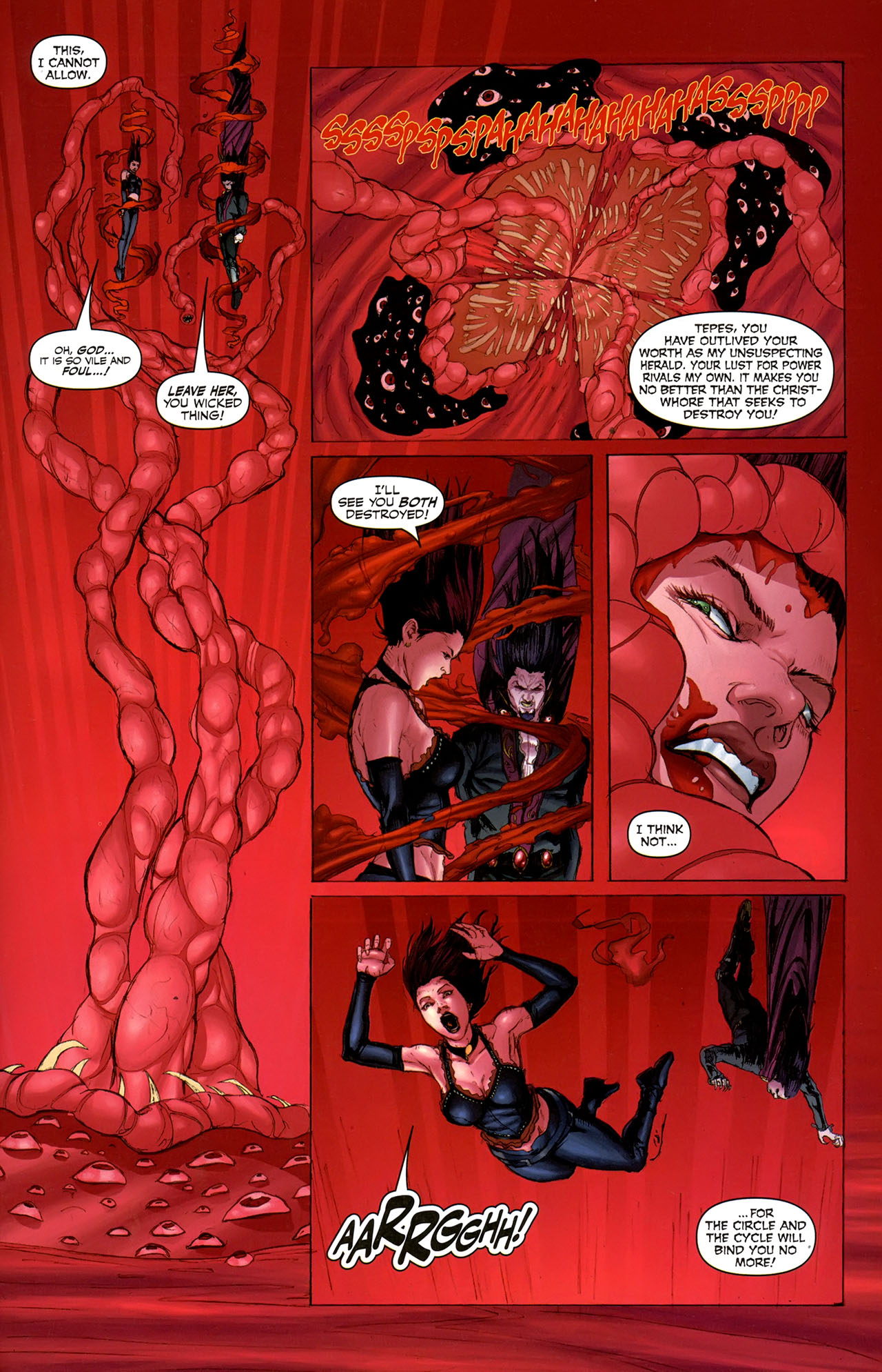 Read online Eva: Daughter of the Dragon comic -  Issue # Full - 27