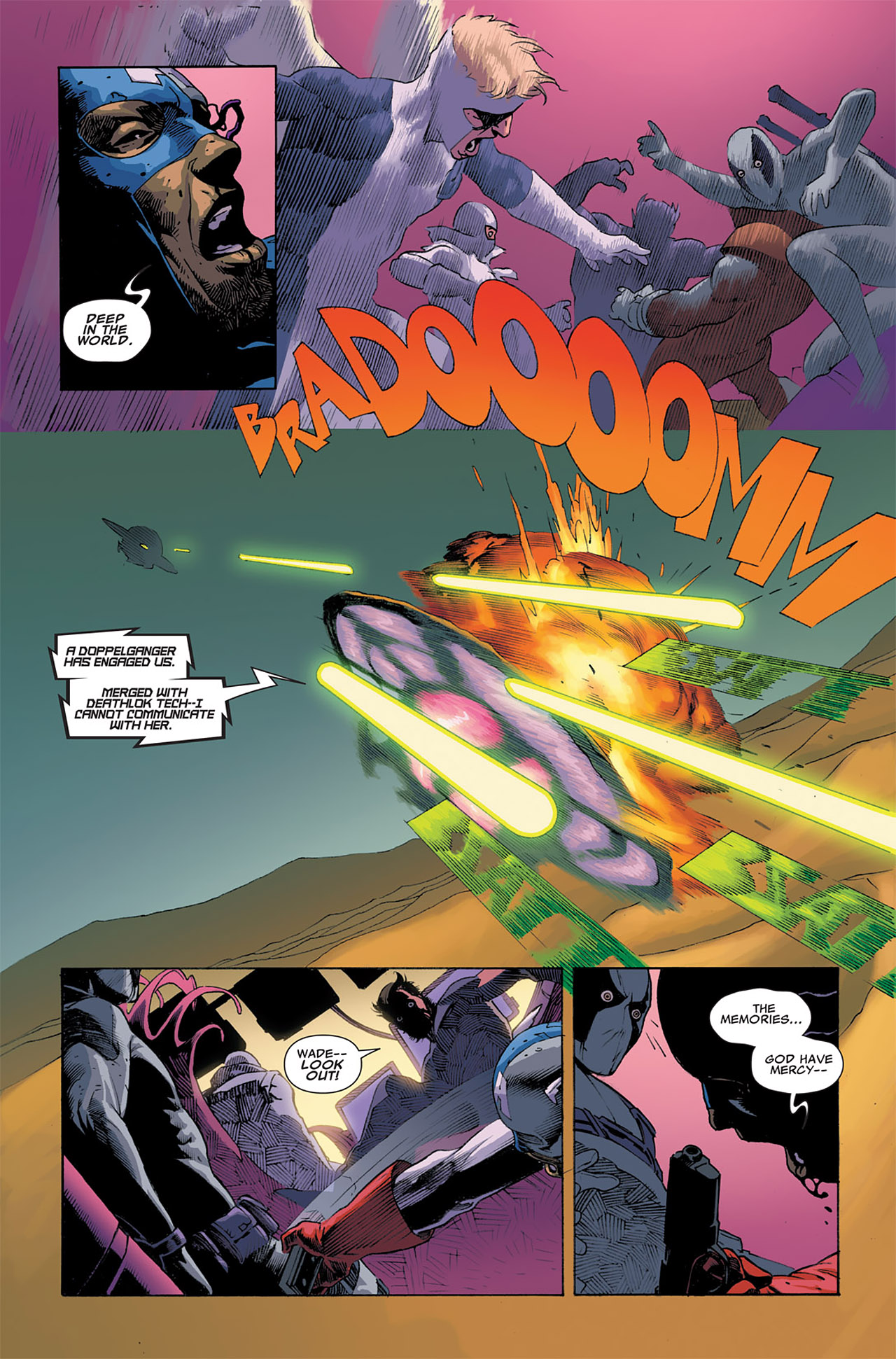 Read online Uncanny X-Force (2010) comic -  Issue #6 - 23