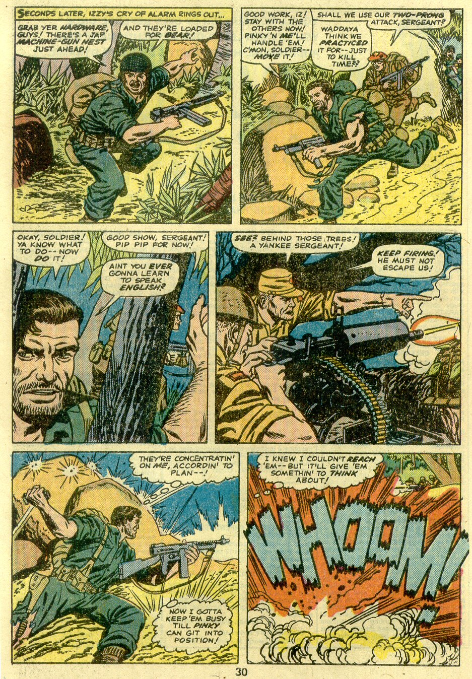 Read online Sgt. Fury comic -  Issue #125 - 32