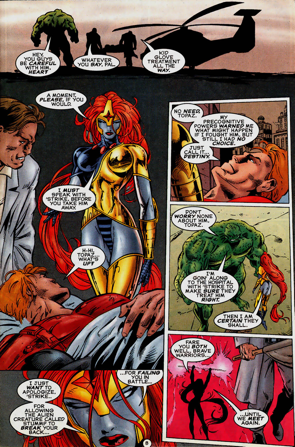 Read online UltraForce (1995) comic -  Issue #13 - 9