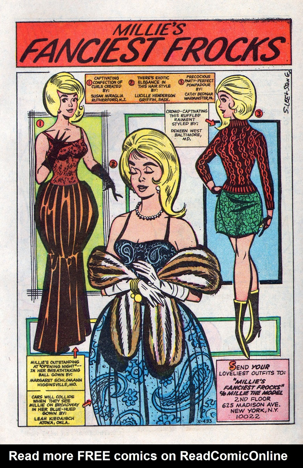 Read online Millie the Model comic -  Issue # Annual 6 - 59