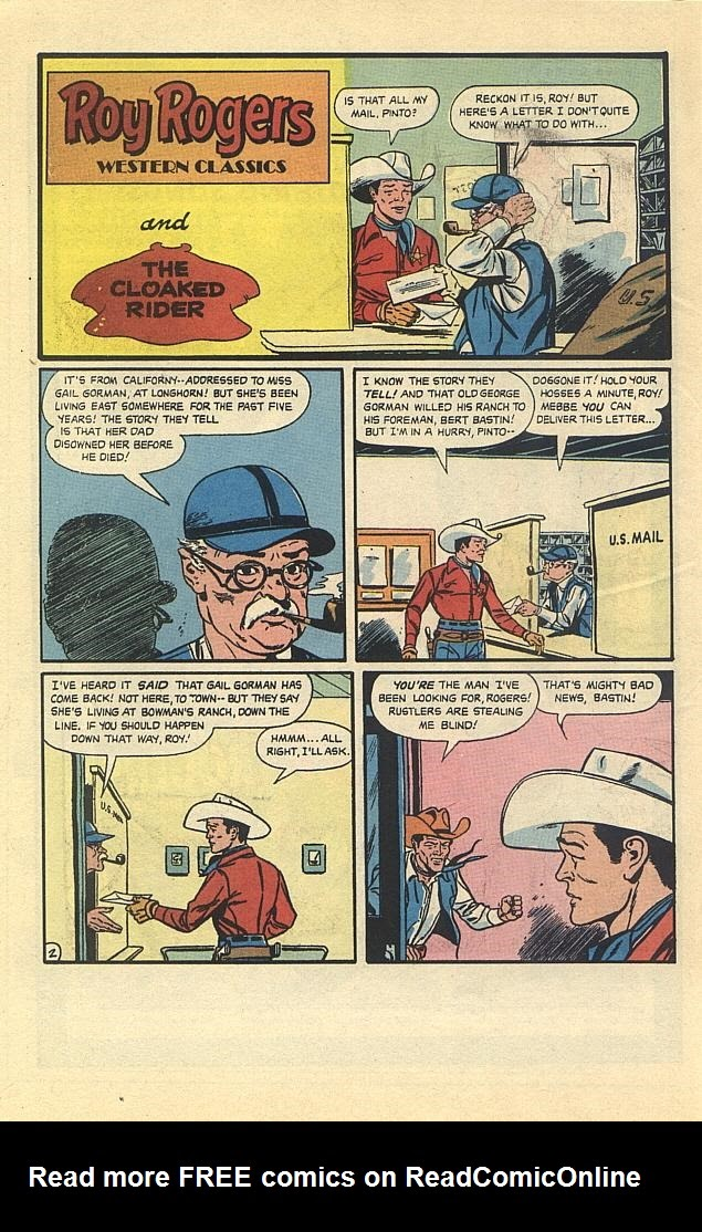 Read online Roy Rogers comic -  Issue #3 - 14