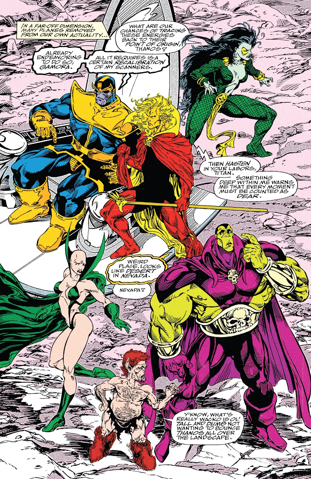 Read online Marvel Tales: Thanos comic -  Issue # Full - 51