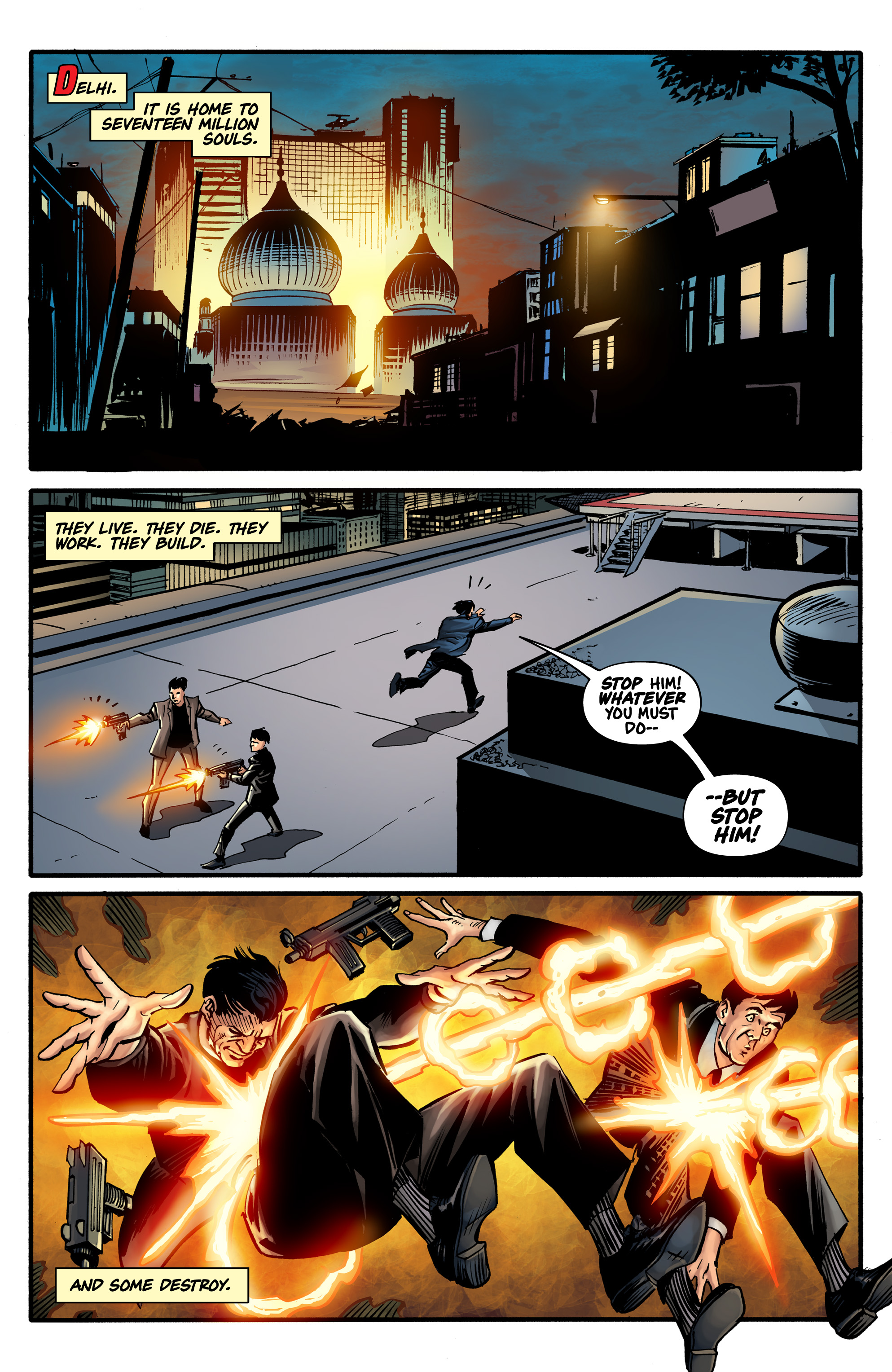 Read online Shadow Tiger comic -  Issue #1 - 3
