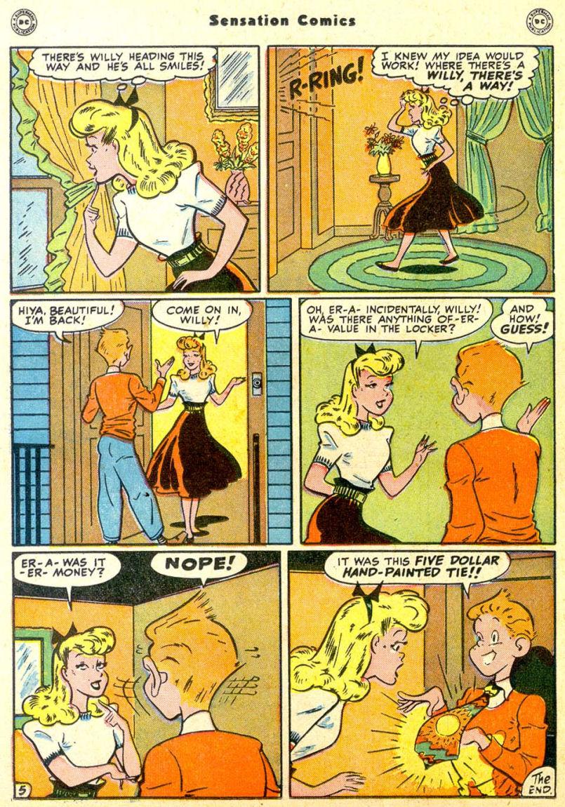 Read online Sensation (Mystery) Comics comic -  Issue #85 - 31