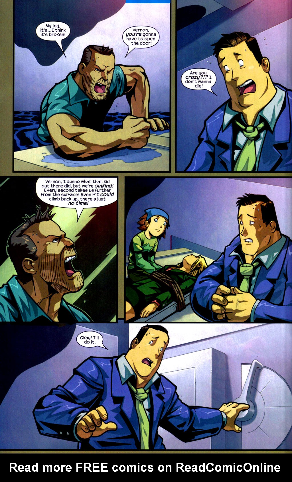 Read online Sentinel comic -  Issue #9 - 7