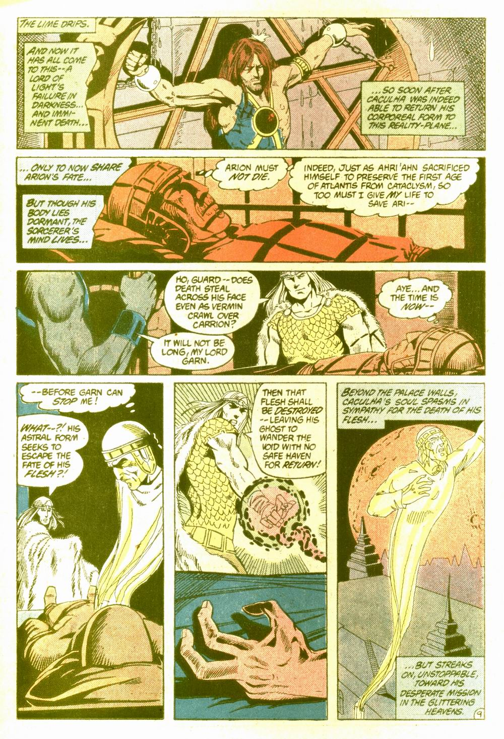 Read online Arion, Lord of Atlantis comic -  Issue #5 - 10