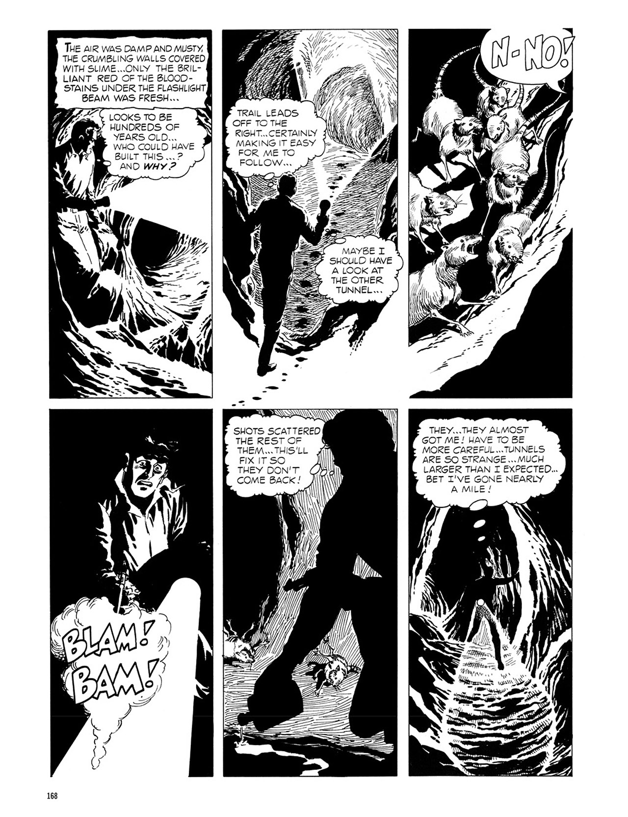 Read online Eerie Archives comic -  Issue # TPB 1 - 169