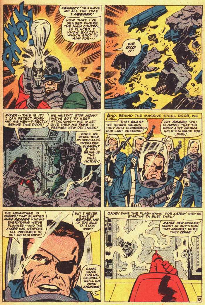 Nick Fury, Agent of SHIELD issue 18 - Page 11
