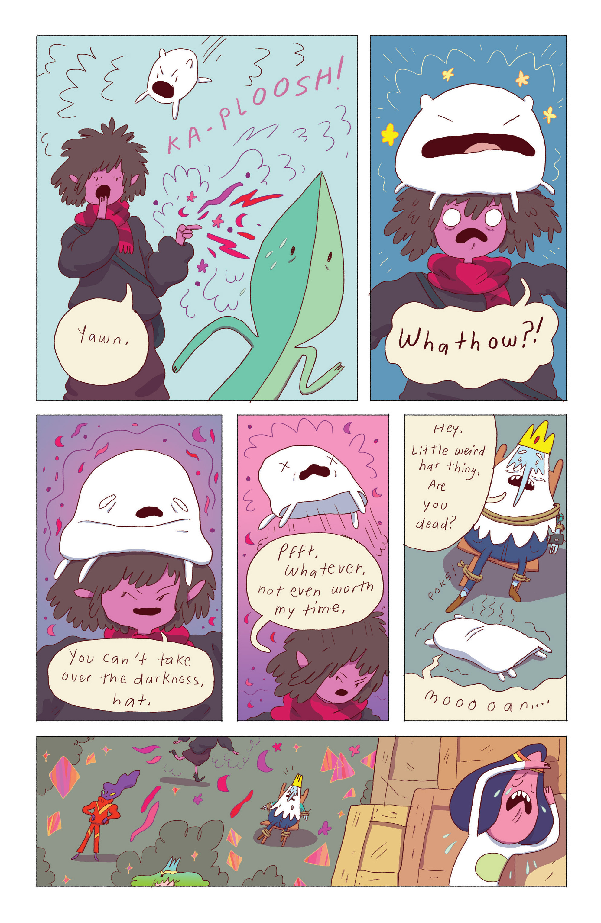 Read online Adventure Time: Ice King comic -  Issue #4 - 8