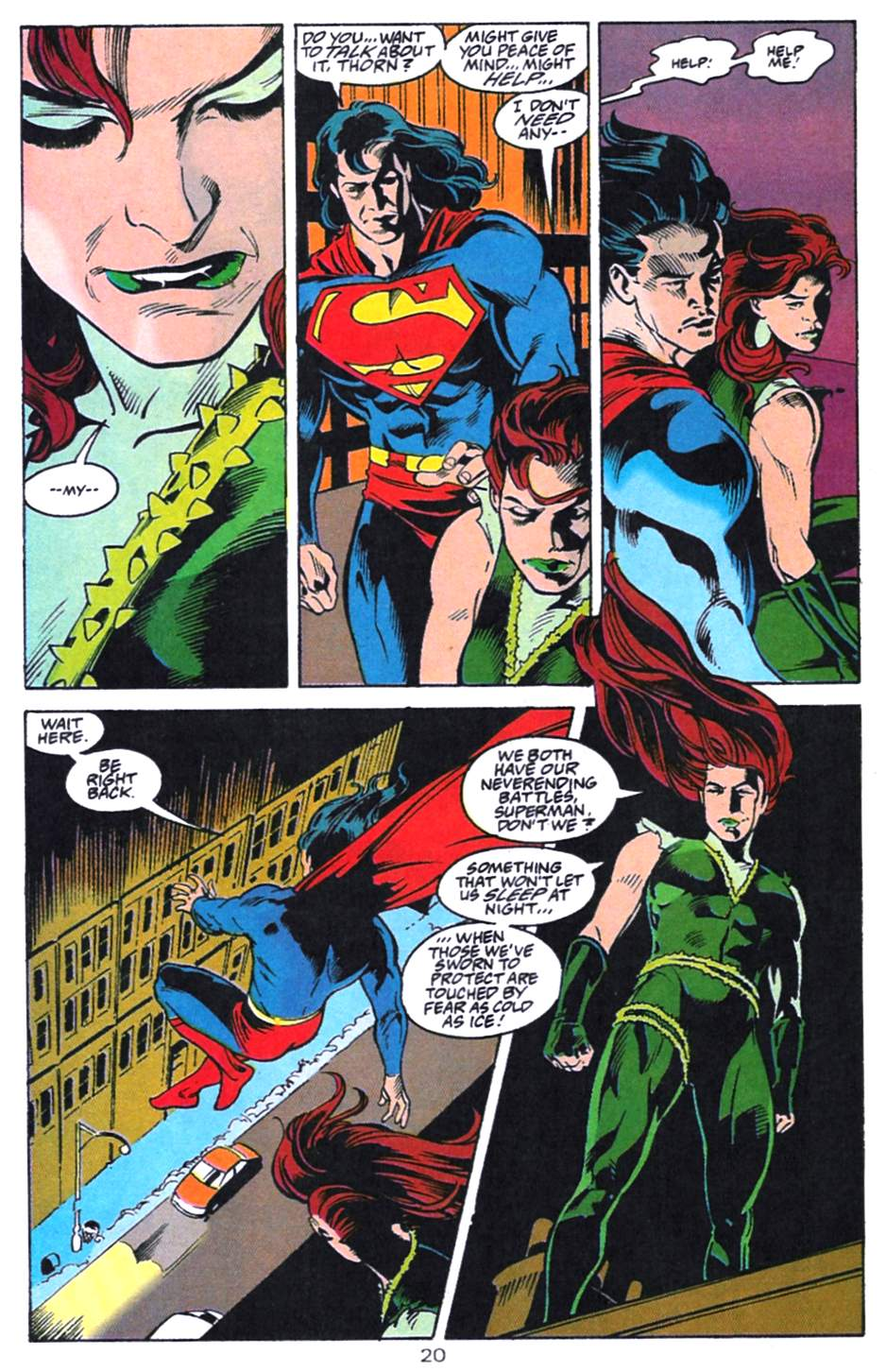 Read online Adventures of Superman (1987) comic -  Issue #521 - 21