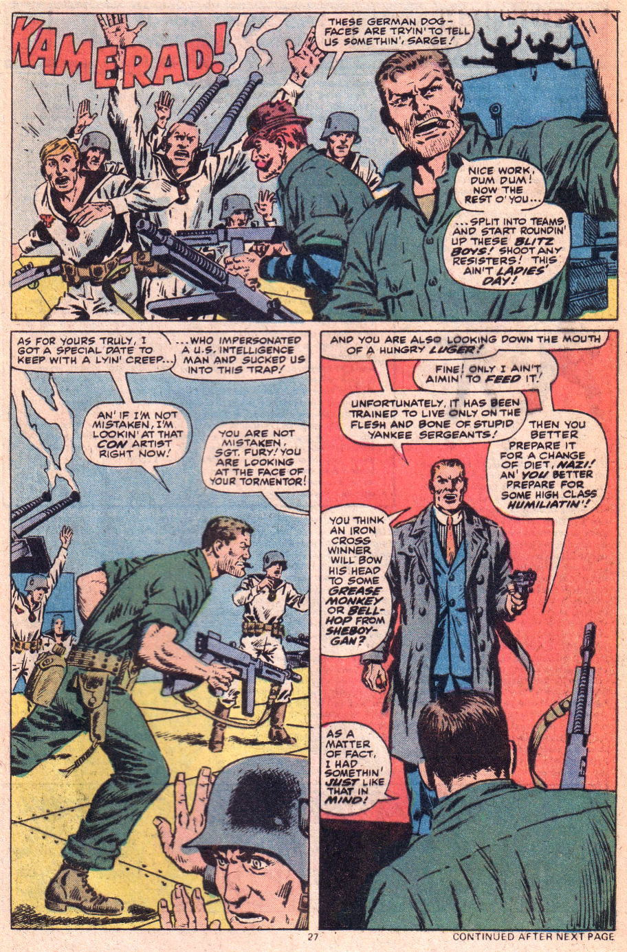 Read online Sgt. Fury comic -  Issue #153 - 28