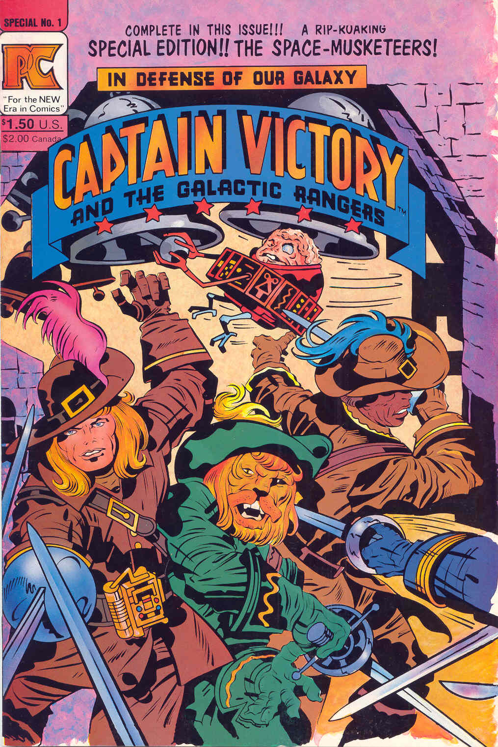 Captain Victory and the Galactic Rangers (1981) _Special_1 Page 1