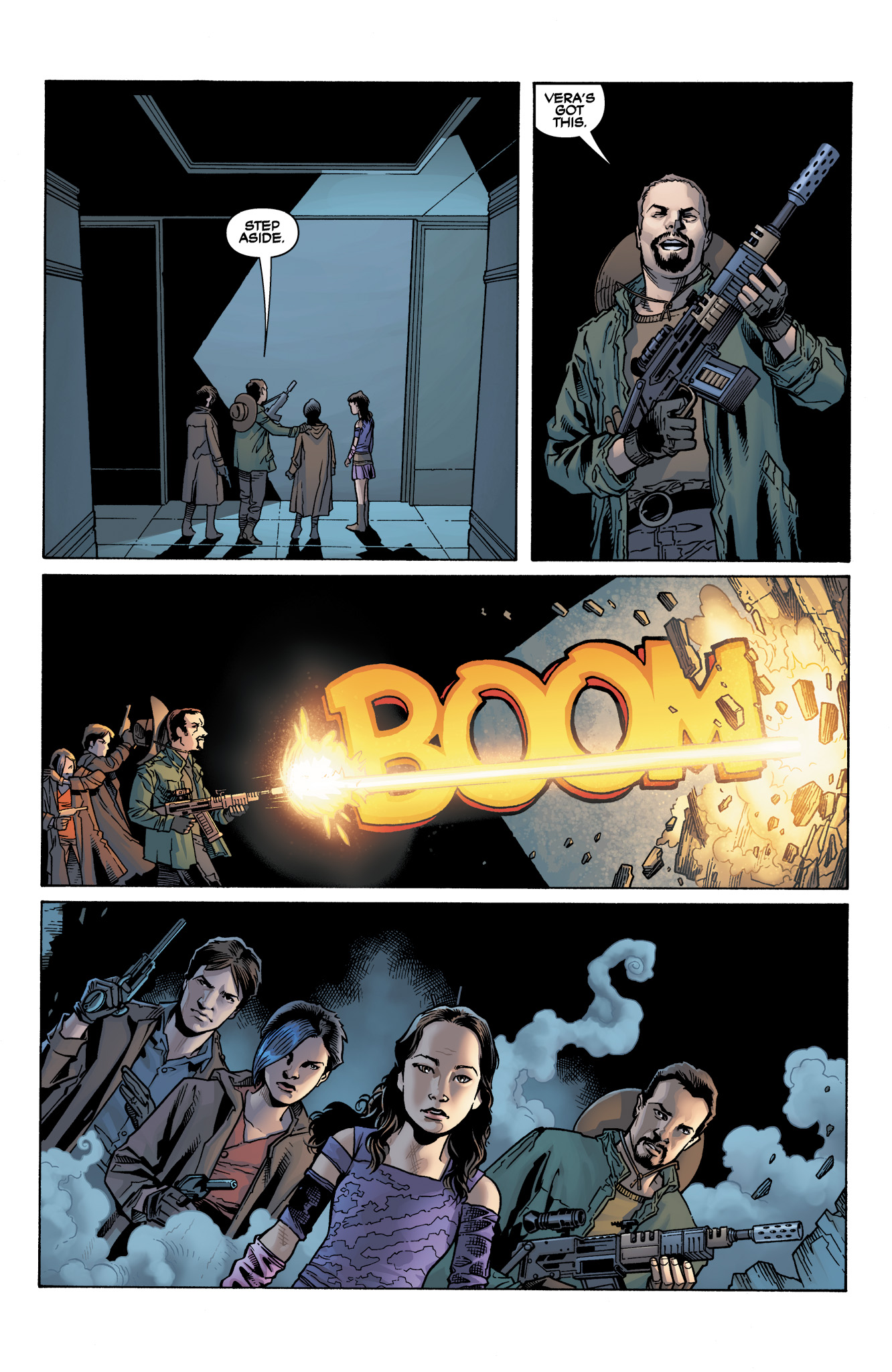Read online Serenity: Firefly Class 03-K64  Leaves on the Wind comic -  Issue #4 - 19