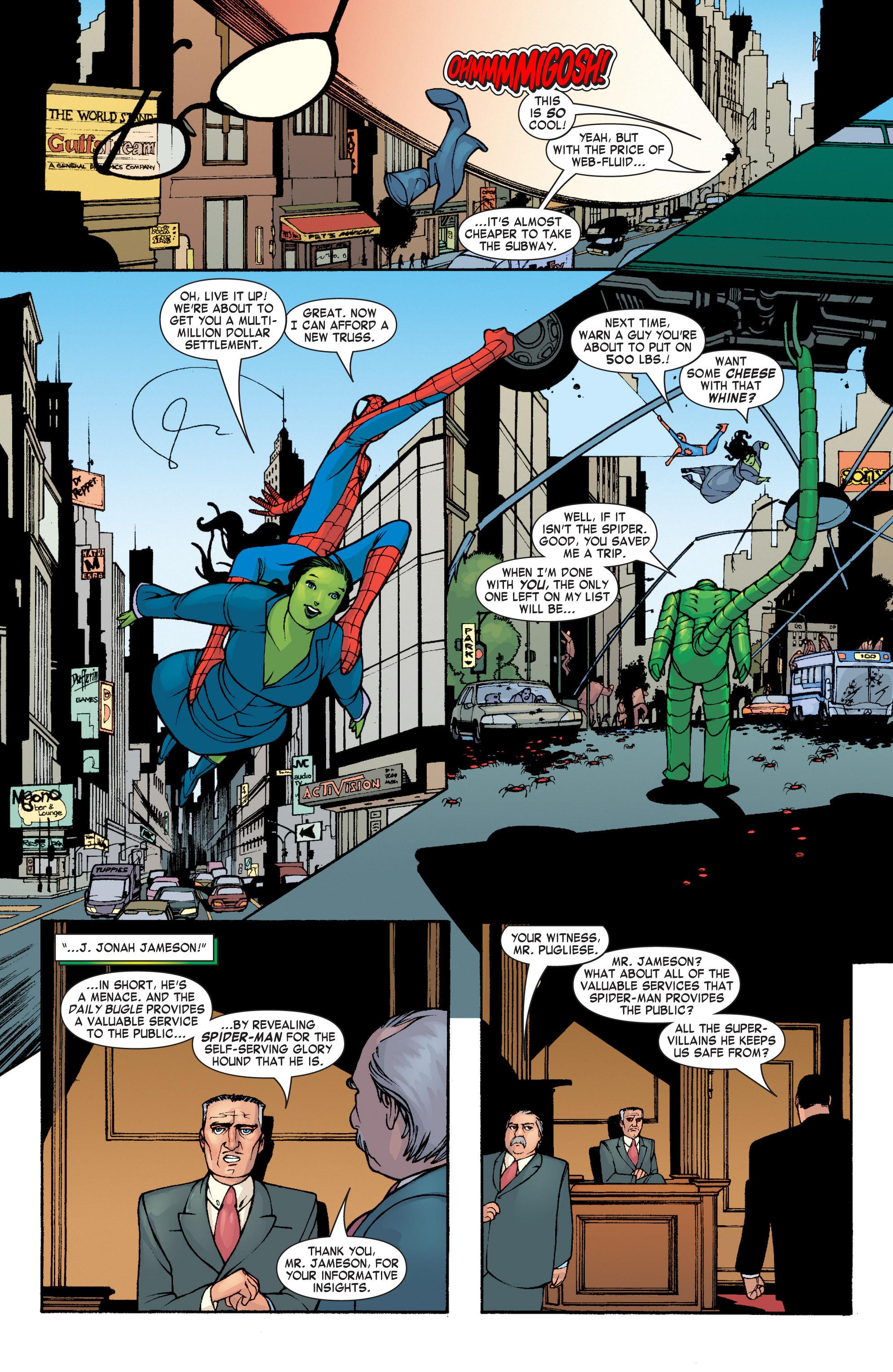 Read online She-Hulk (2004) comic -  Issue #4 - 16